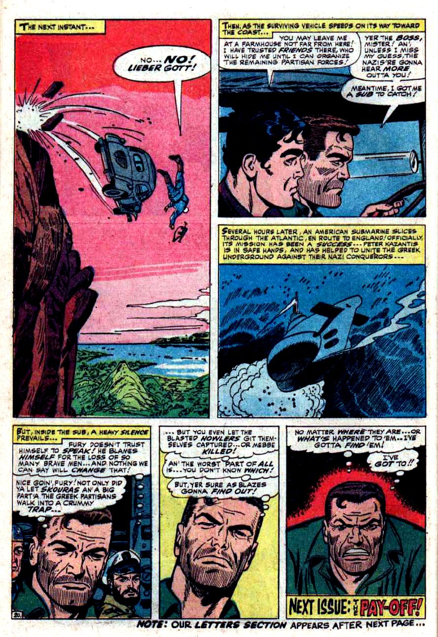 Read online Sgt. Fury comic -  Issue #33 - 28