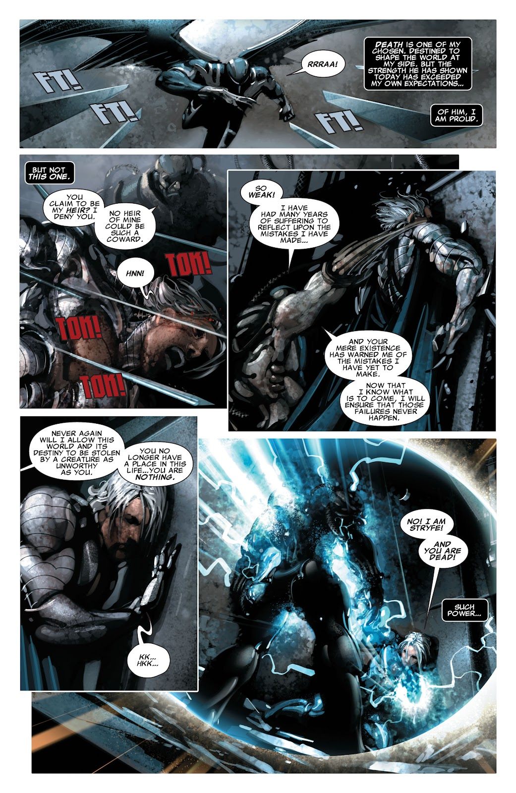 Read online X-Force/Cable: Messiah War comic -  Issue # _TPB (Part 2) - 131