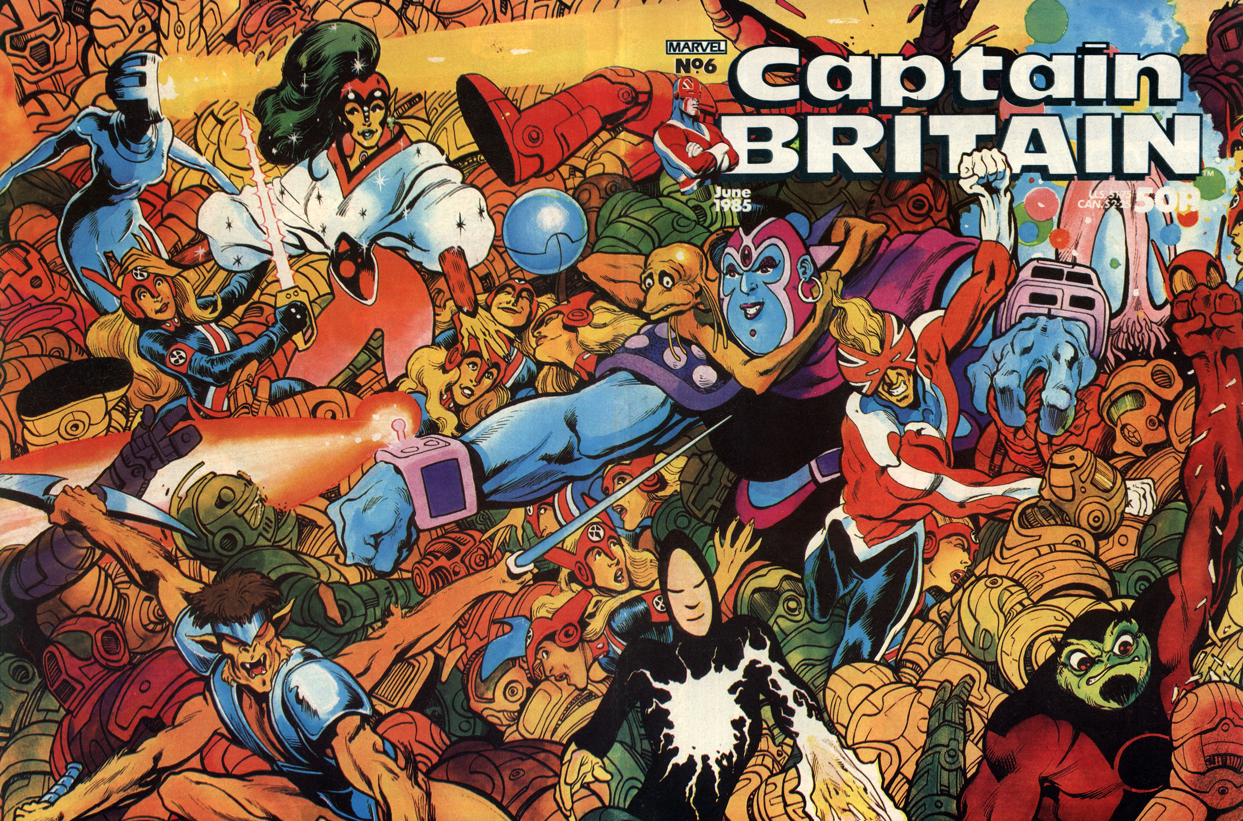 Captain Britain (1985) 6 Page 1
