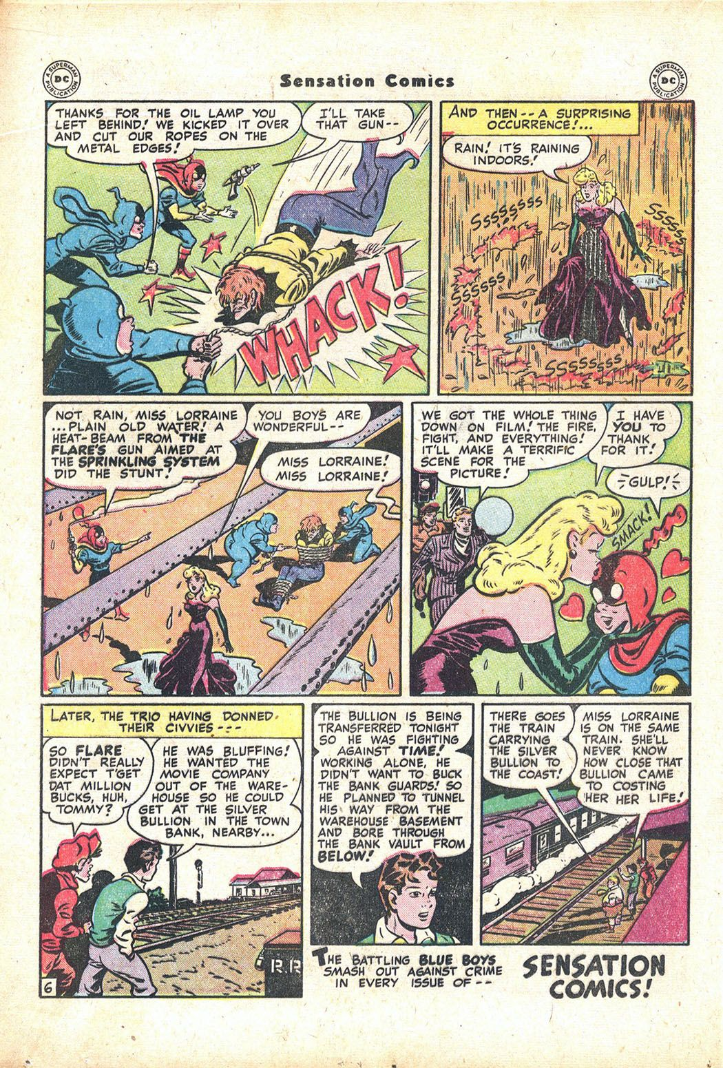 Read online Sensation (Mystery) Comics comic -  Issue #71 - 22