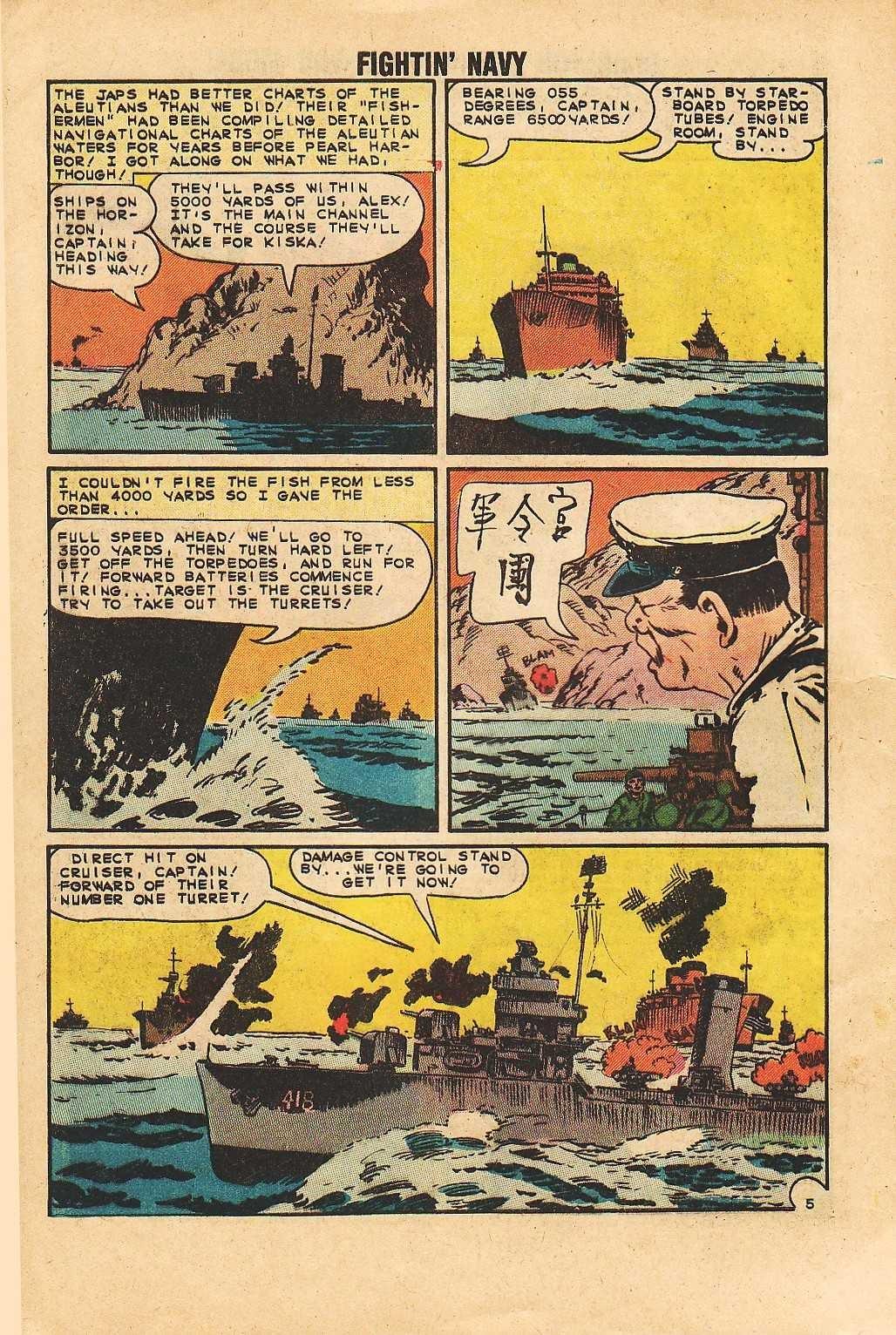 Read online Fightin' Navy comic -  Issue #113 - 8
