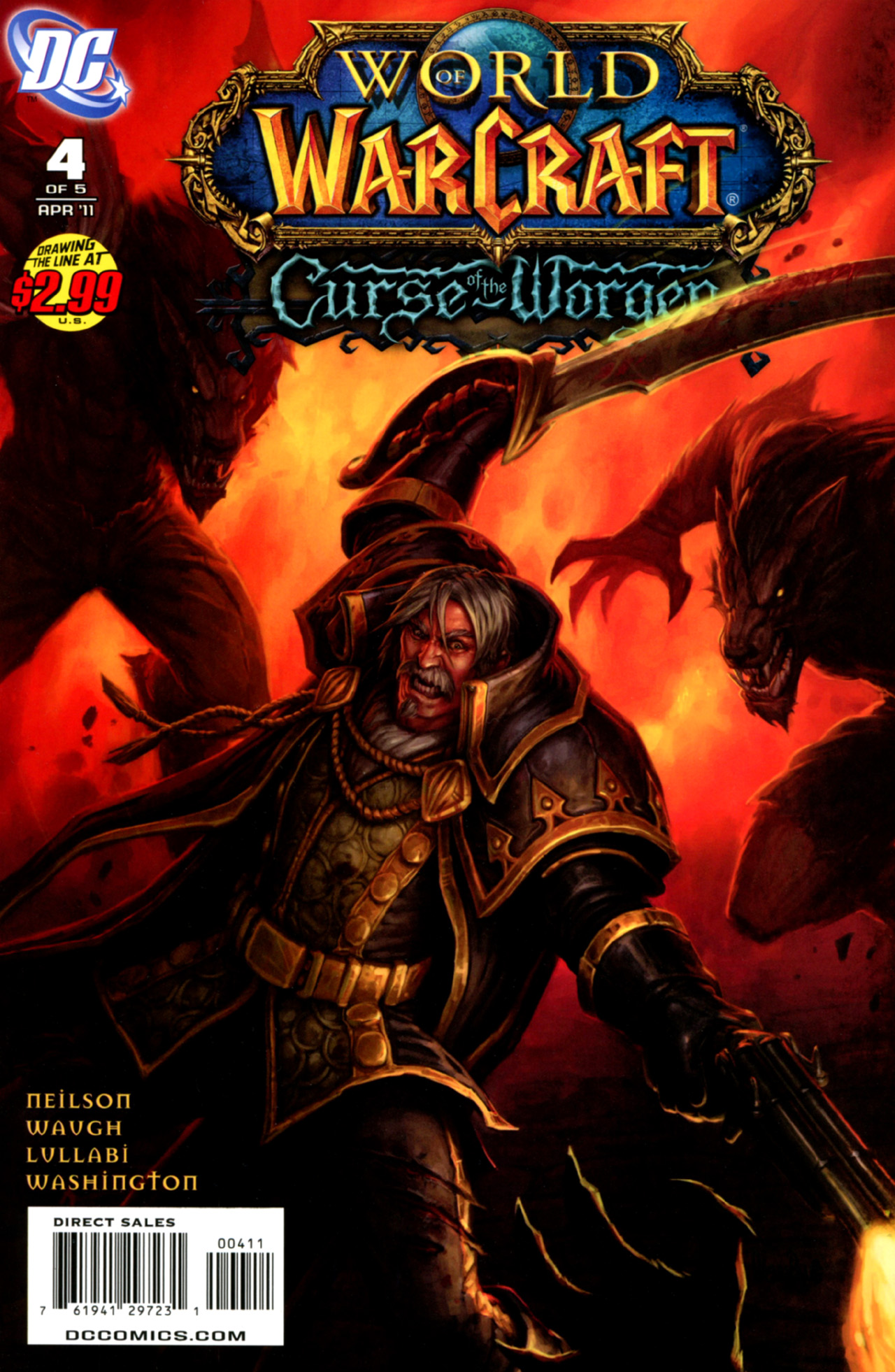 Read online World of Warcraft: Curse of the Worgen comic -  Issue #4 - 1