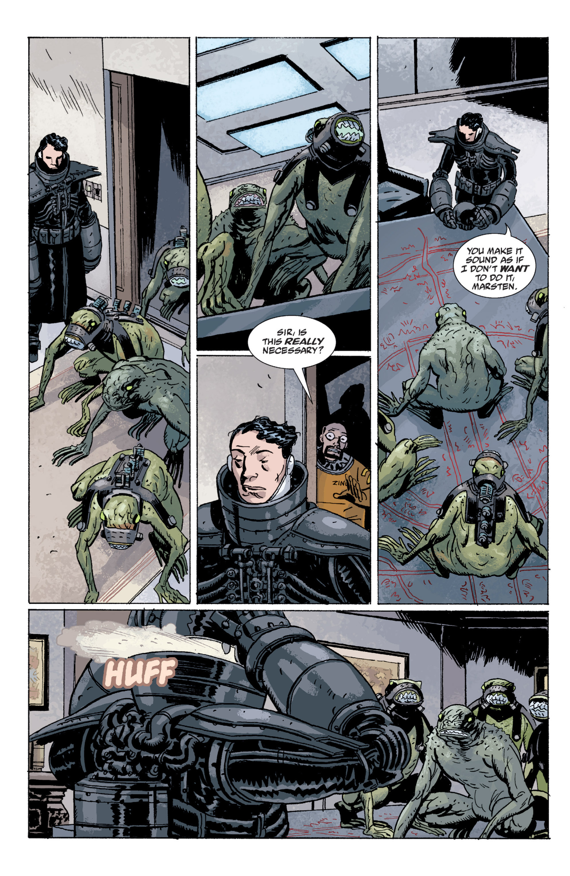 Read online B.P.R.D. (2003) comic -  Issue # TPB 5 - 67