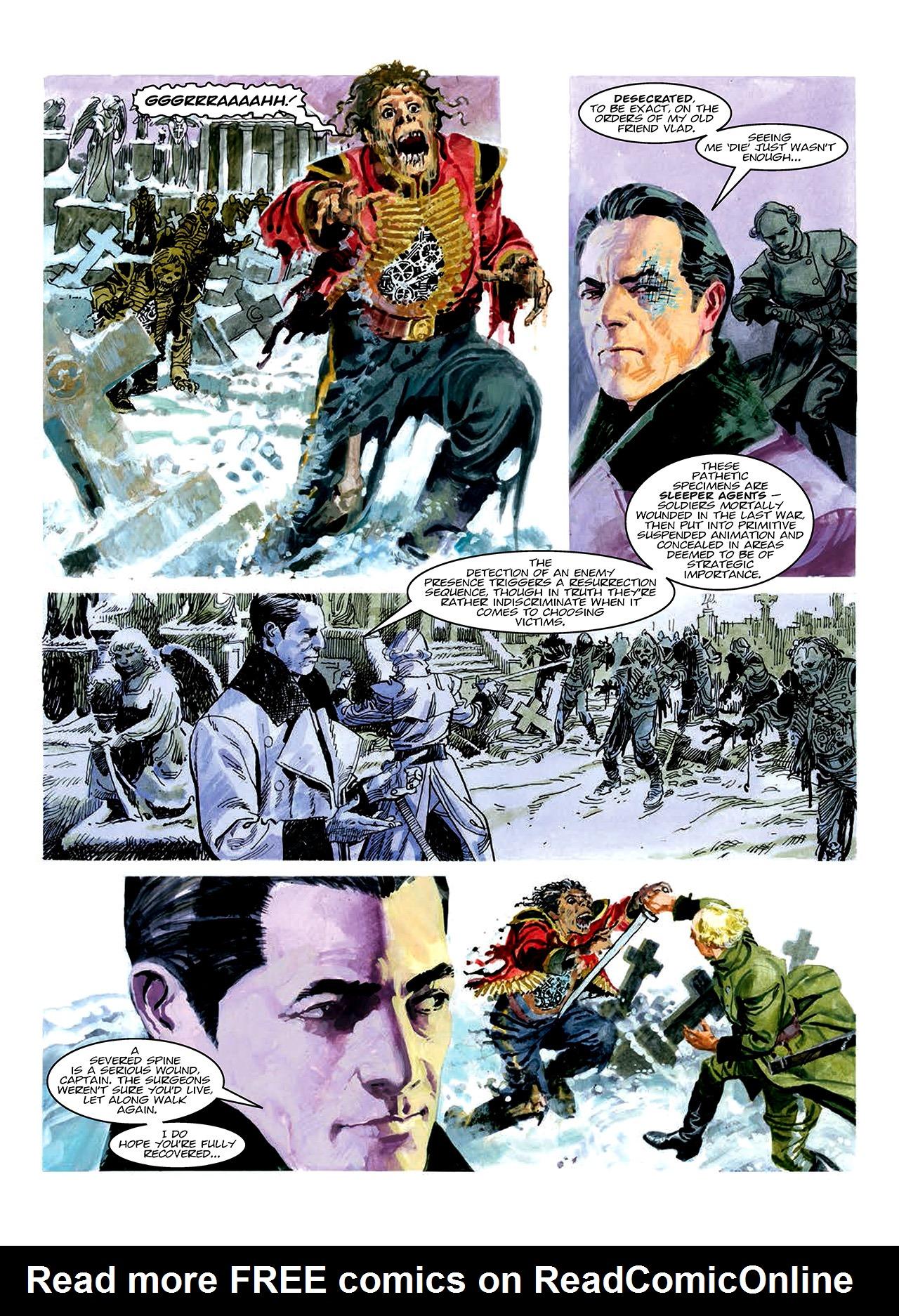 Read online Nikolai Dante comic -  Issue # TPB 10 - 162