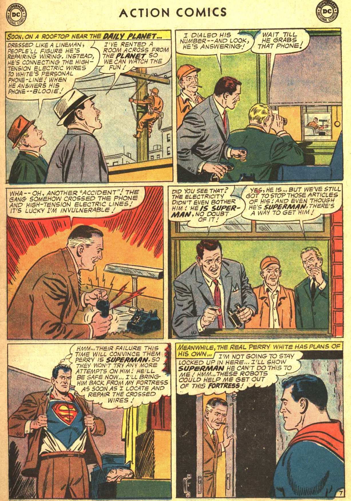 Read online Action Comics (1938) comic -  Issue #302 - 8