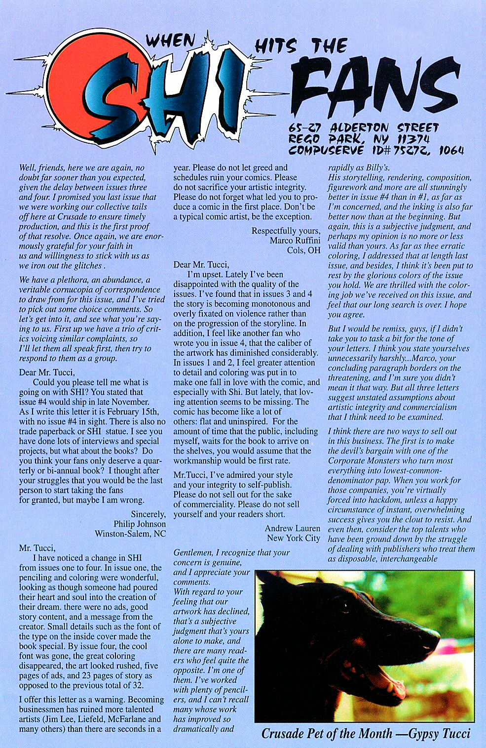 Read online Shi: The Way of the Warrior comic -  Issue #5 - 25