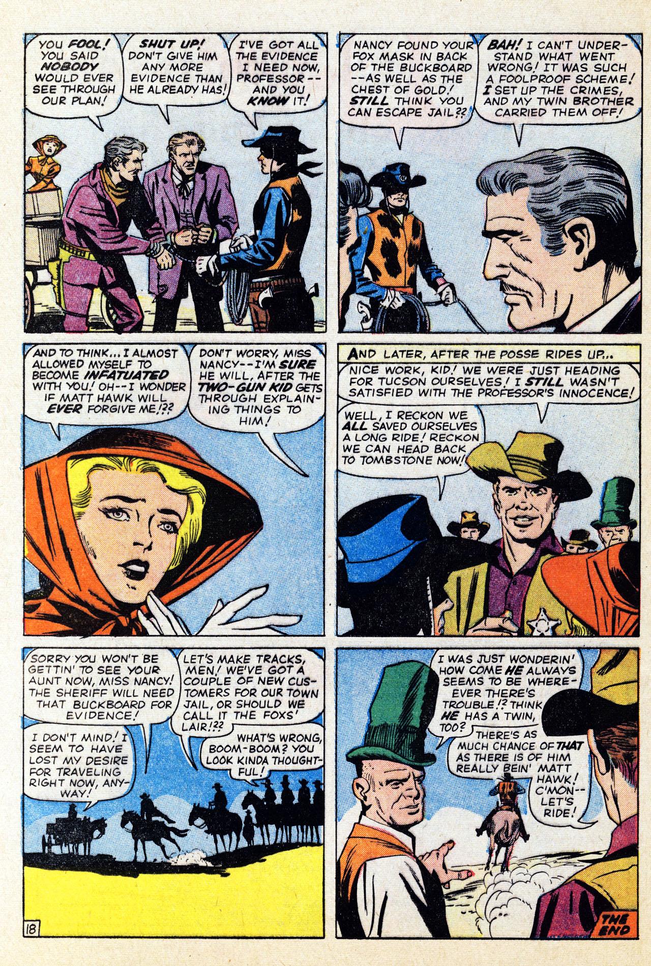 Read online Two-Gun Kid comic -  Issue #67 - 24