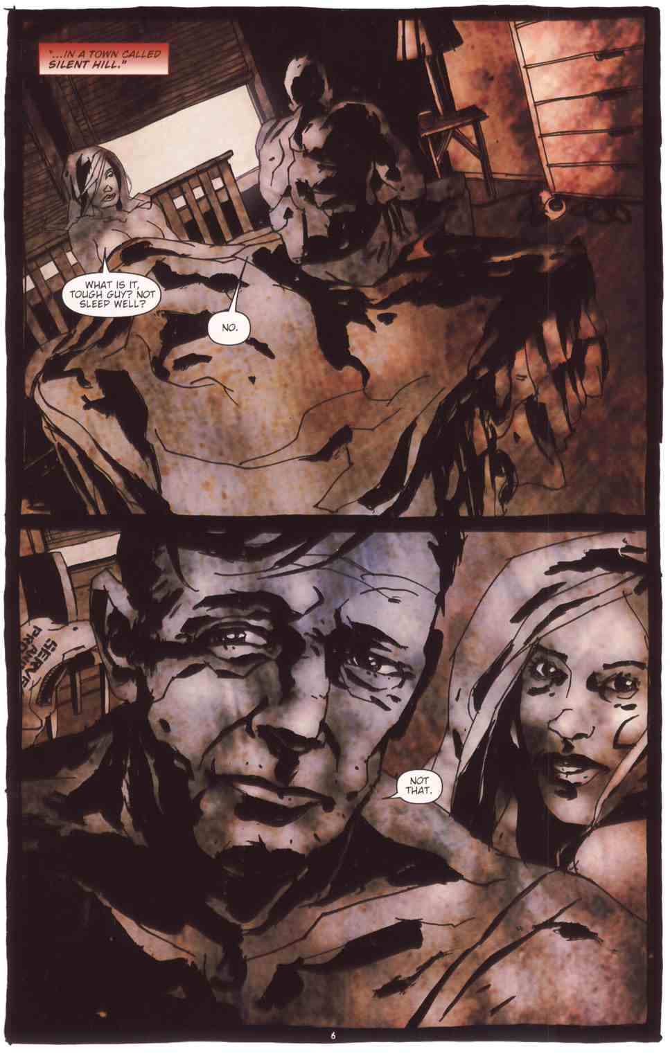 Read online Silent Hill: The Grinning Man comic -  Issue # Full - 8