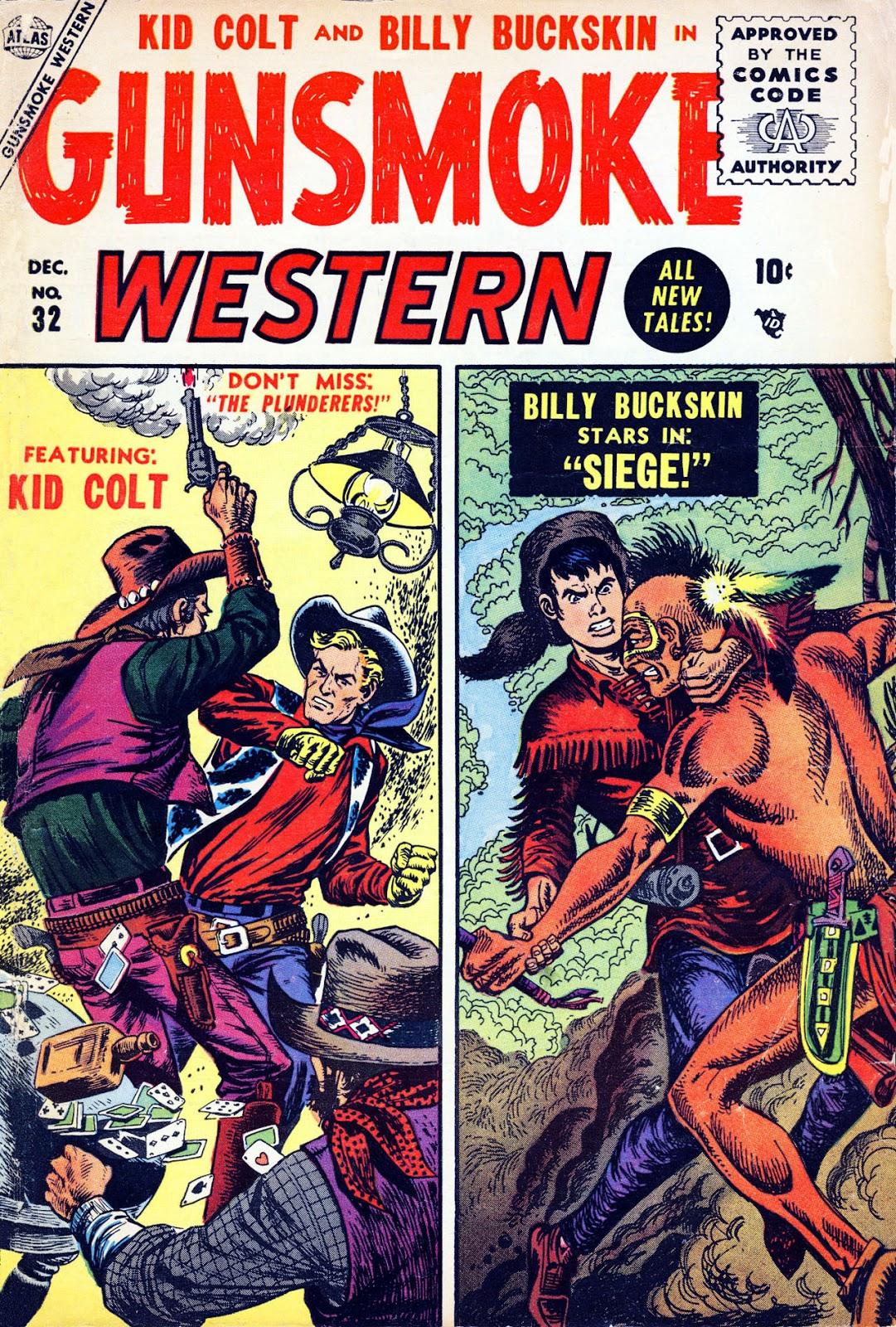 Gunsmoke Western issue 32 - Page 1