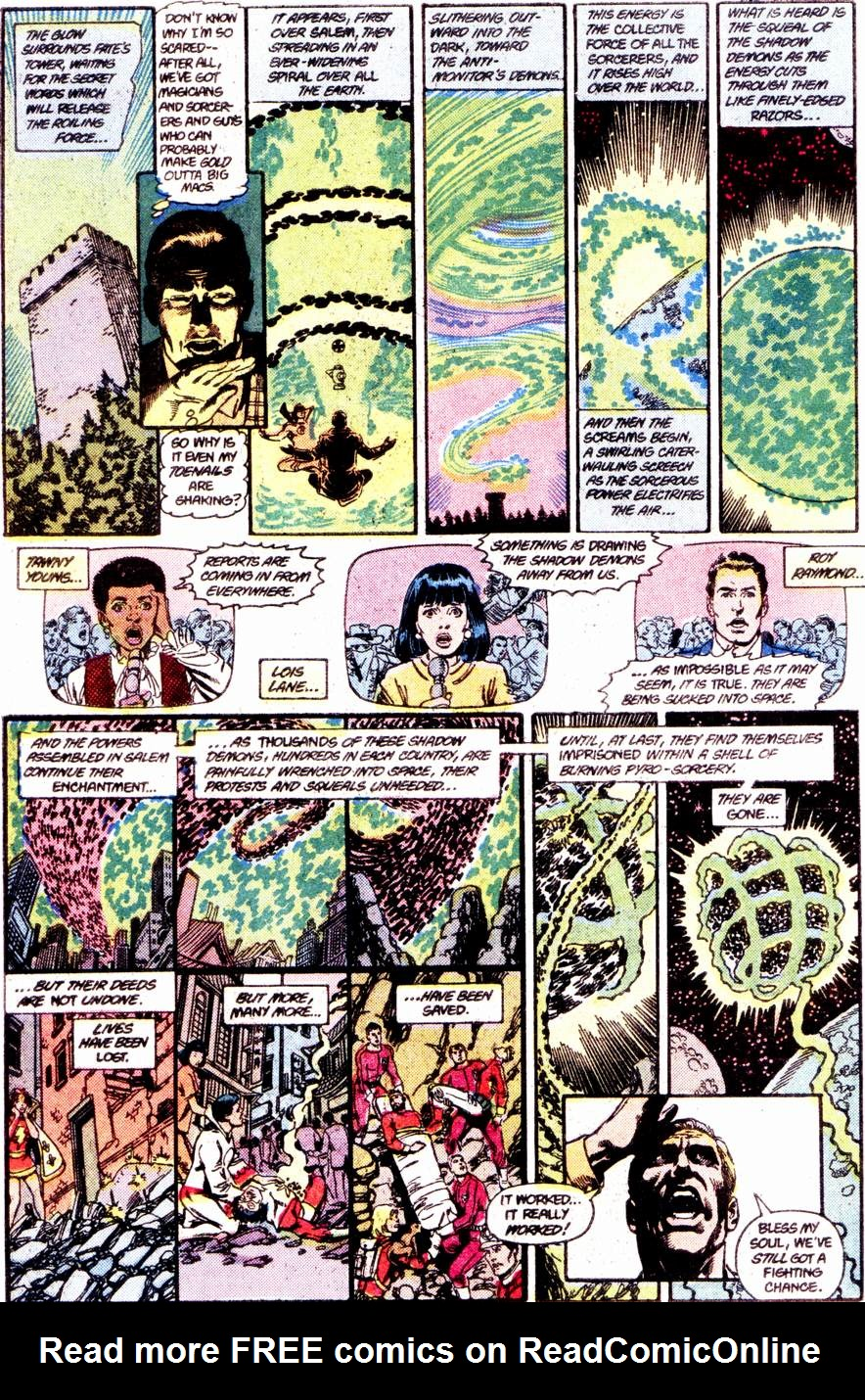 Crisis on Infinite Earths (1985) 12 Page 23