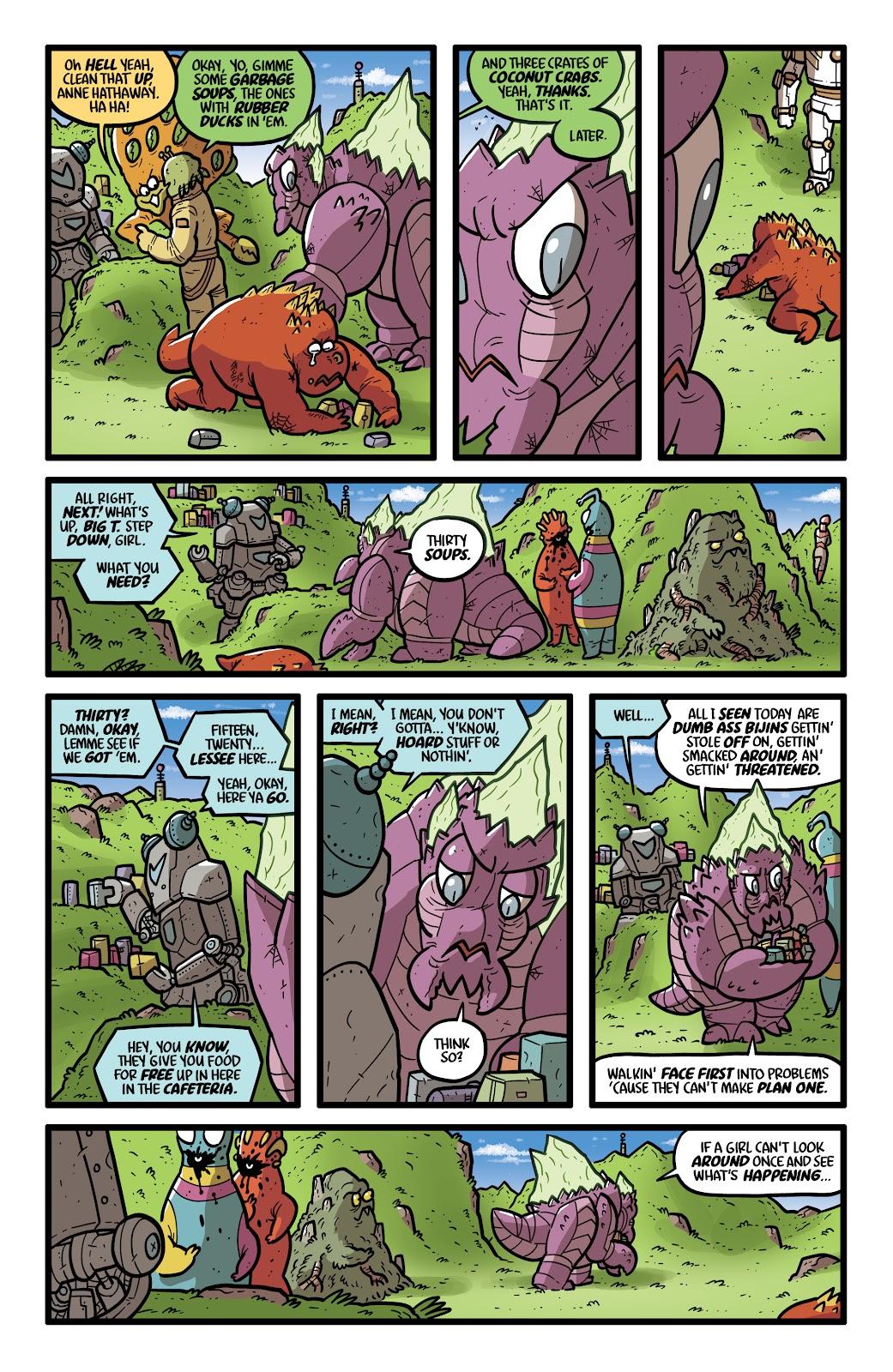 Read online Kaijumax: Season Four comic -  Issue #4 - 12
