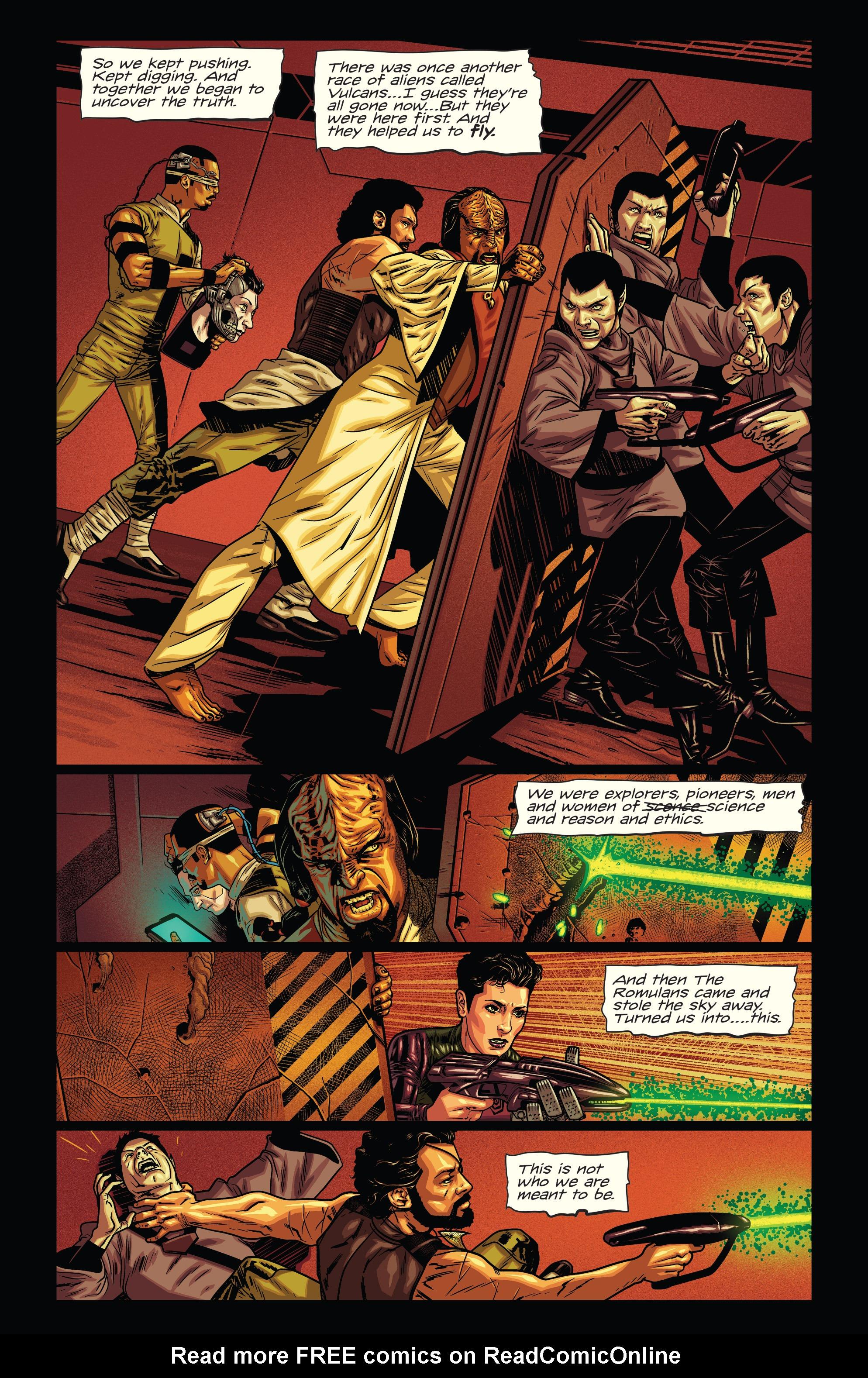 Read online Star Trek: Deviations comic -  Issue # Full - 13