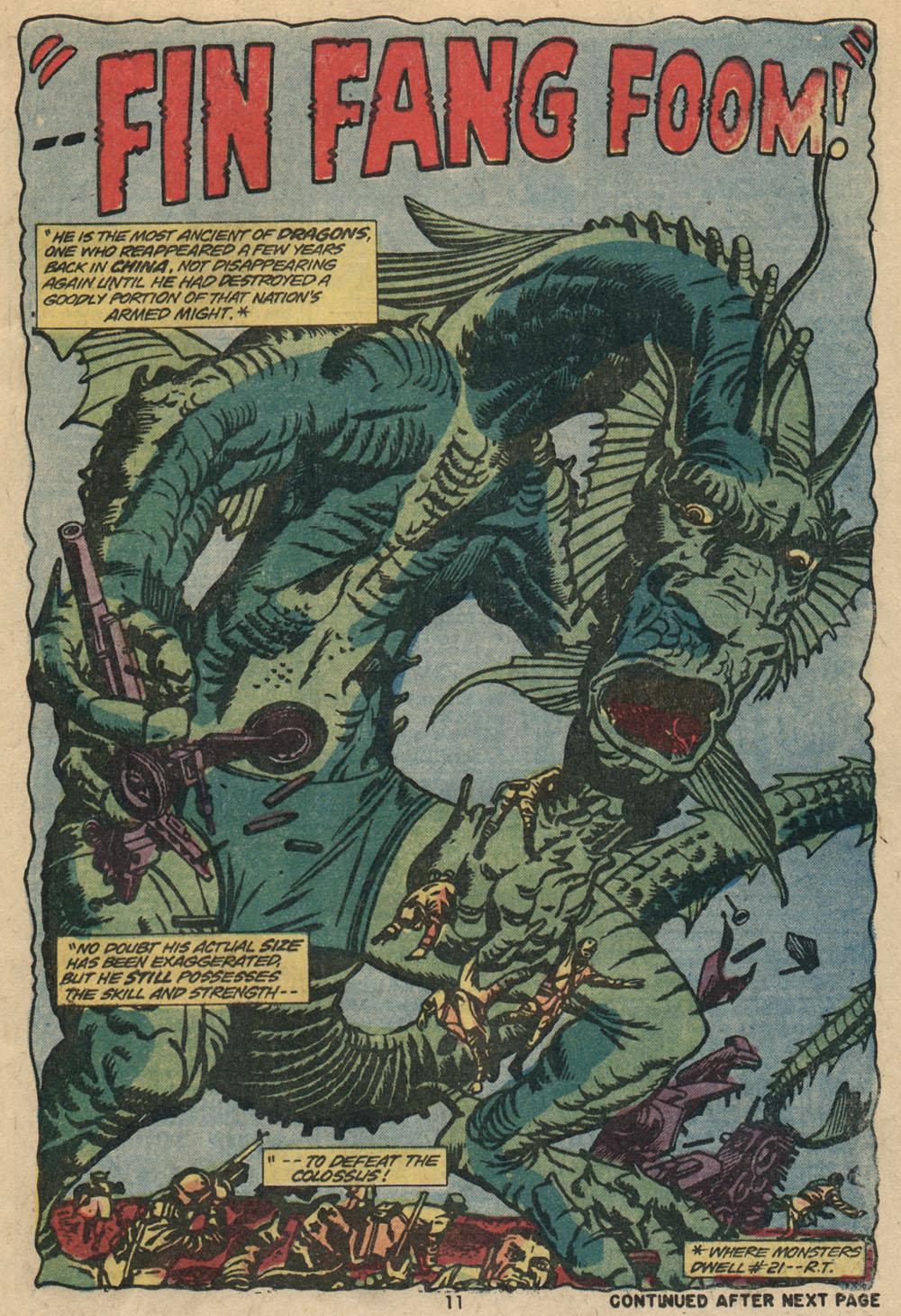 Read online Astonishing Tales (1970) comic -  Issue #23 - 8