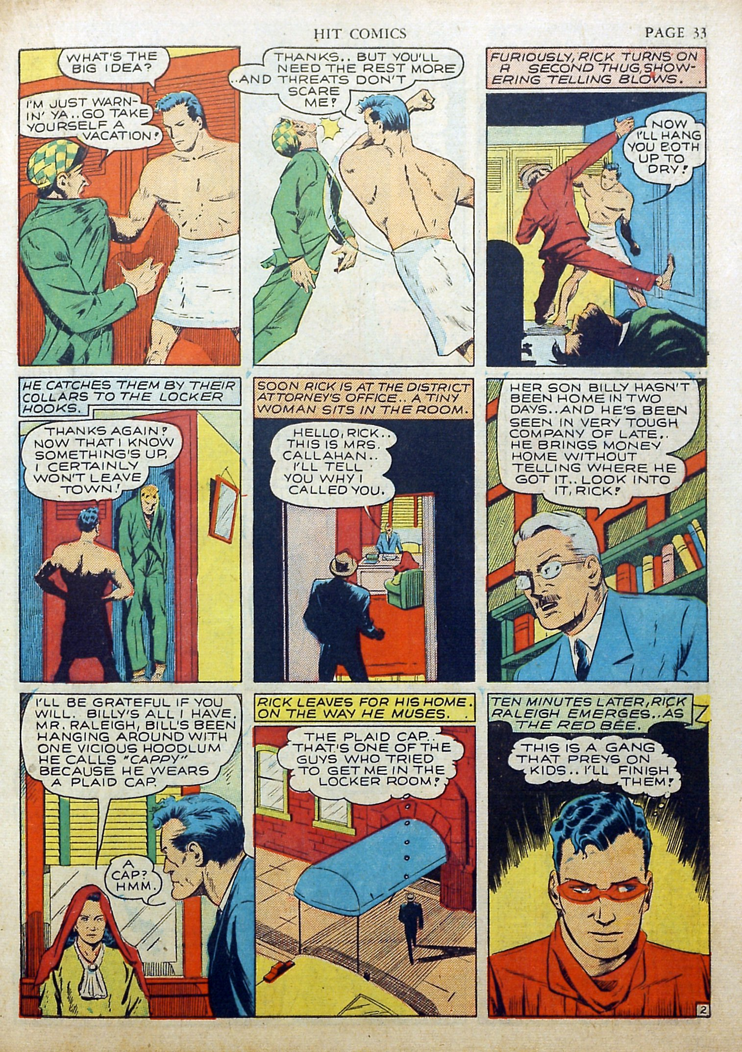Read online Hit Comics comic -  Issue #17 - 35