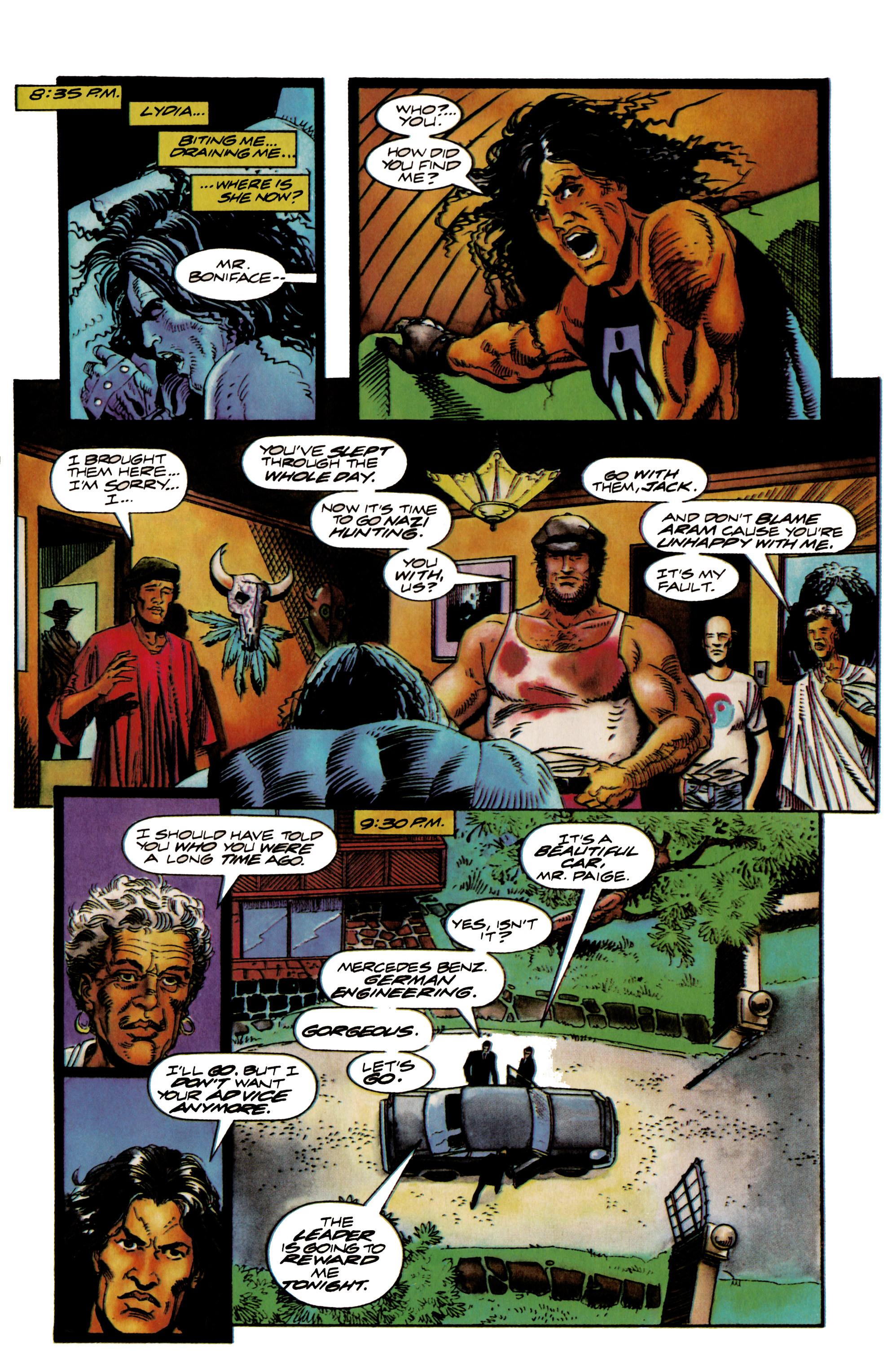Read online Shadowman (1992) comic -  Issue #18 - 17