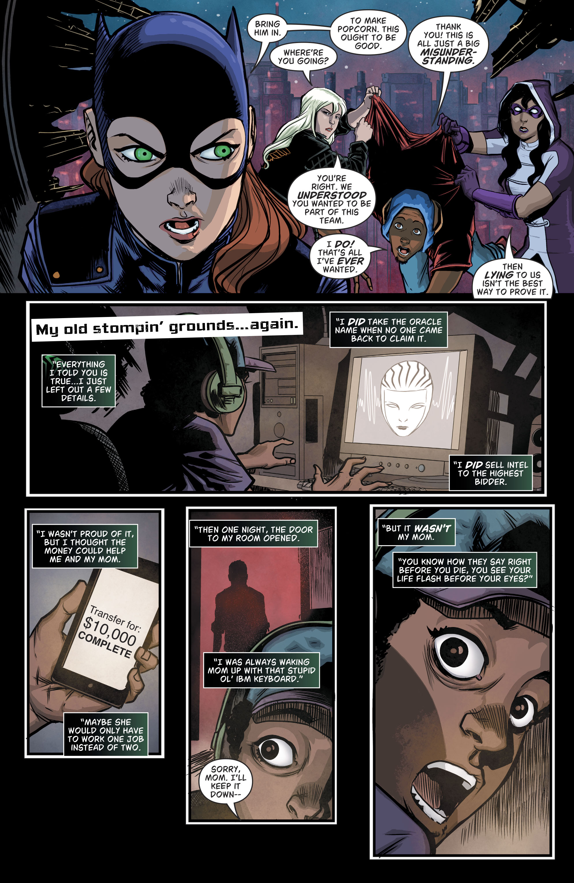 Read online Batgirl and the Birds of Prey comic -  Issue #11 - 6