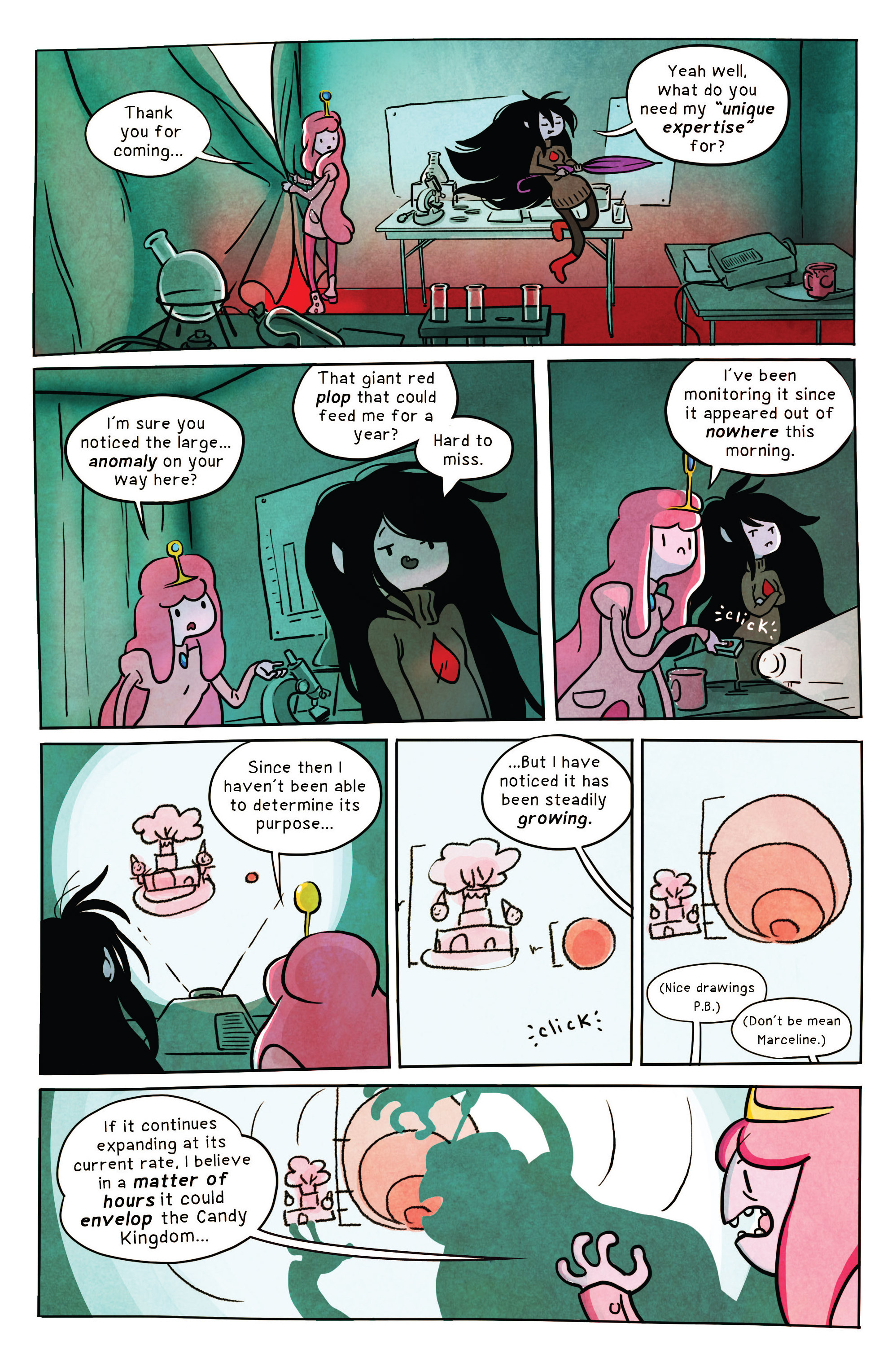 Read online Adventure Time comic -  Issue #32 - 20