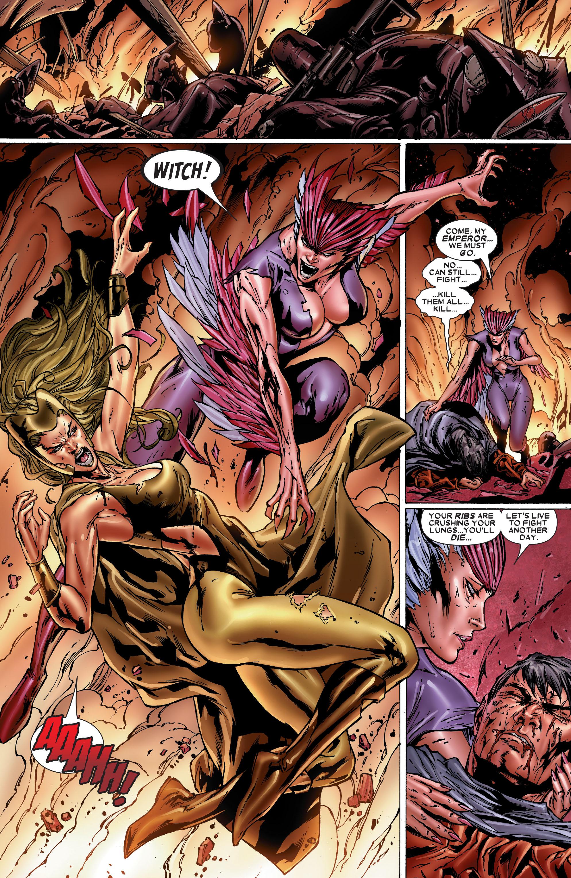 Read online Uncanny X-Men (1963) comic -  Issue #486 - 16