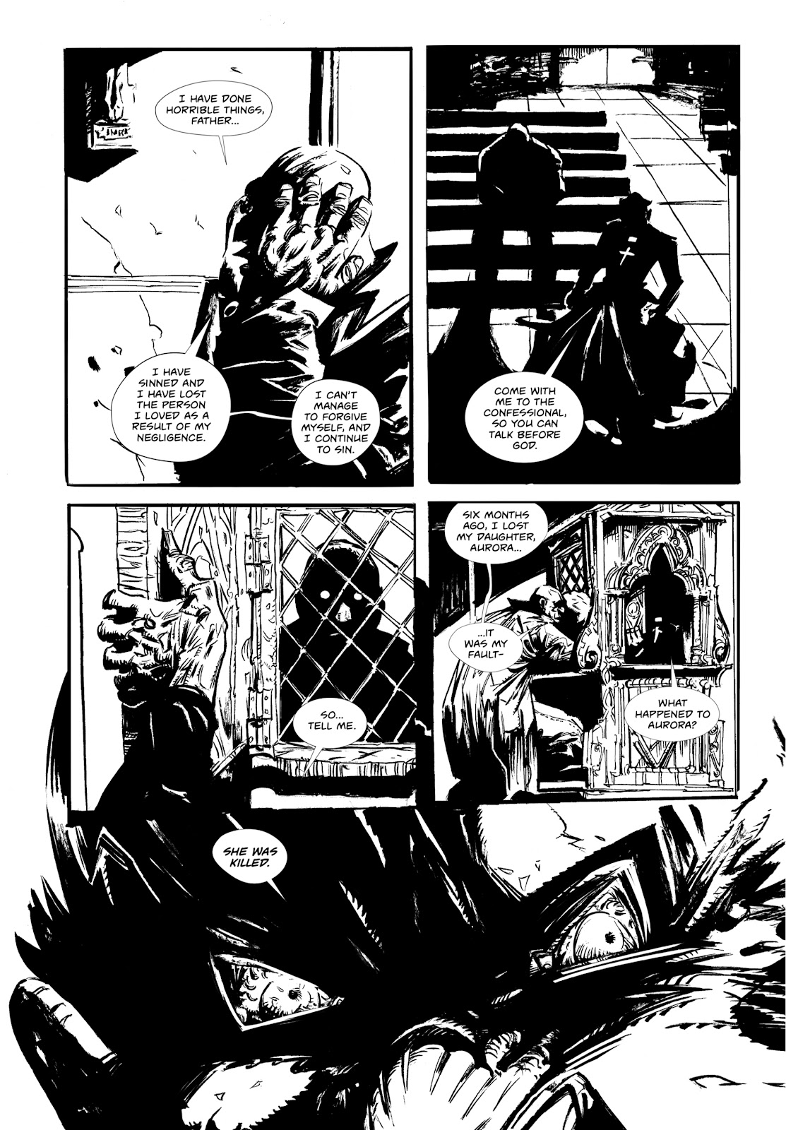 Read online Wrath of God comic -  Issue #1 - 4