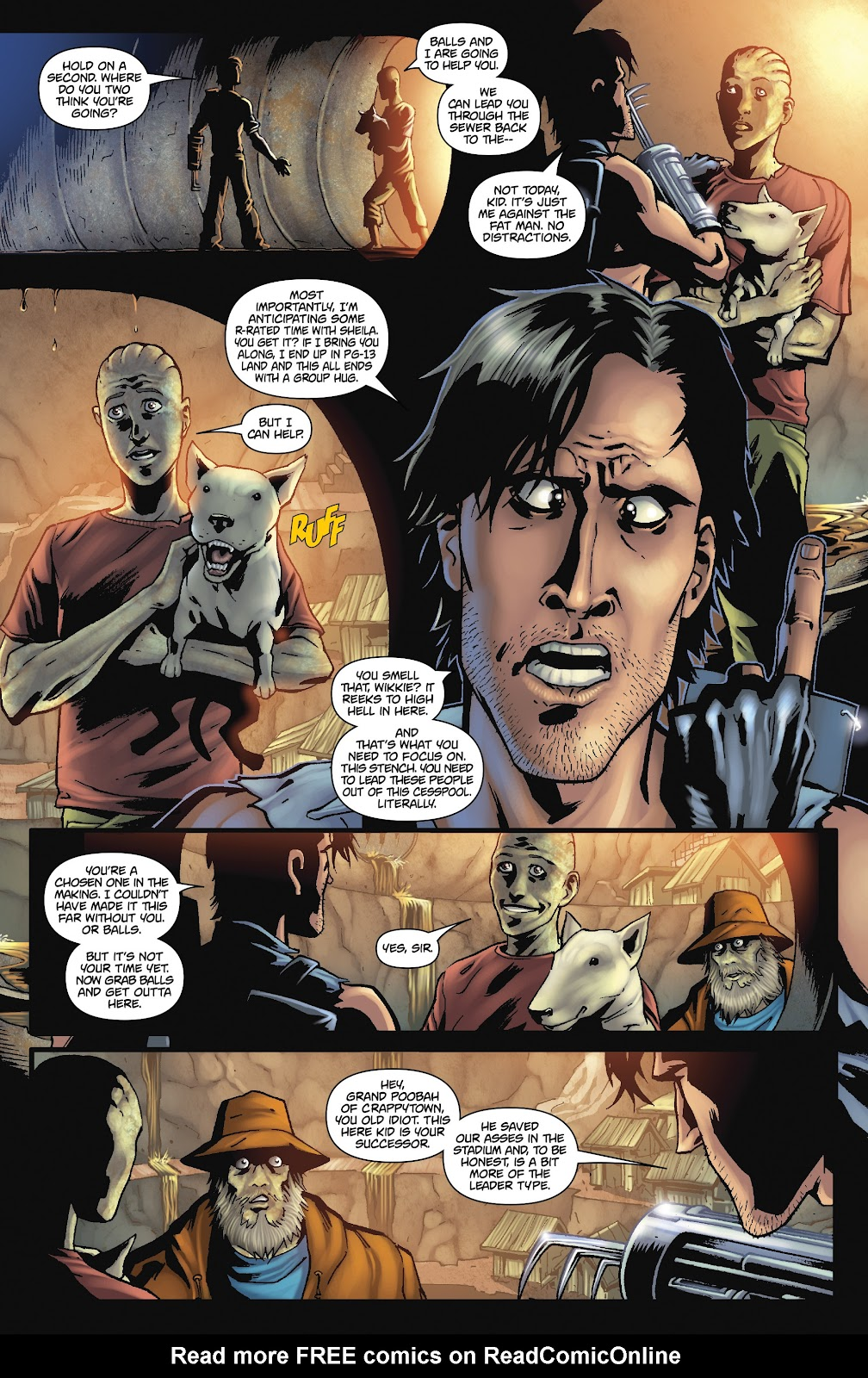 Army of Darkness: The Long Road Home issue TPB - Page 83