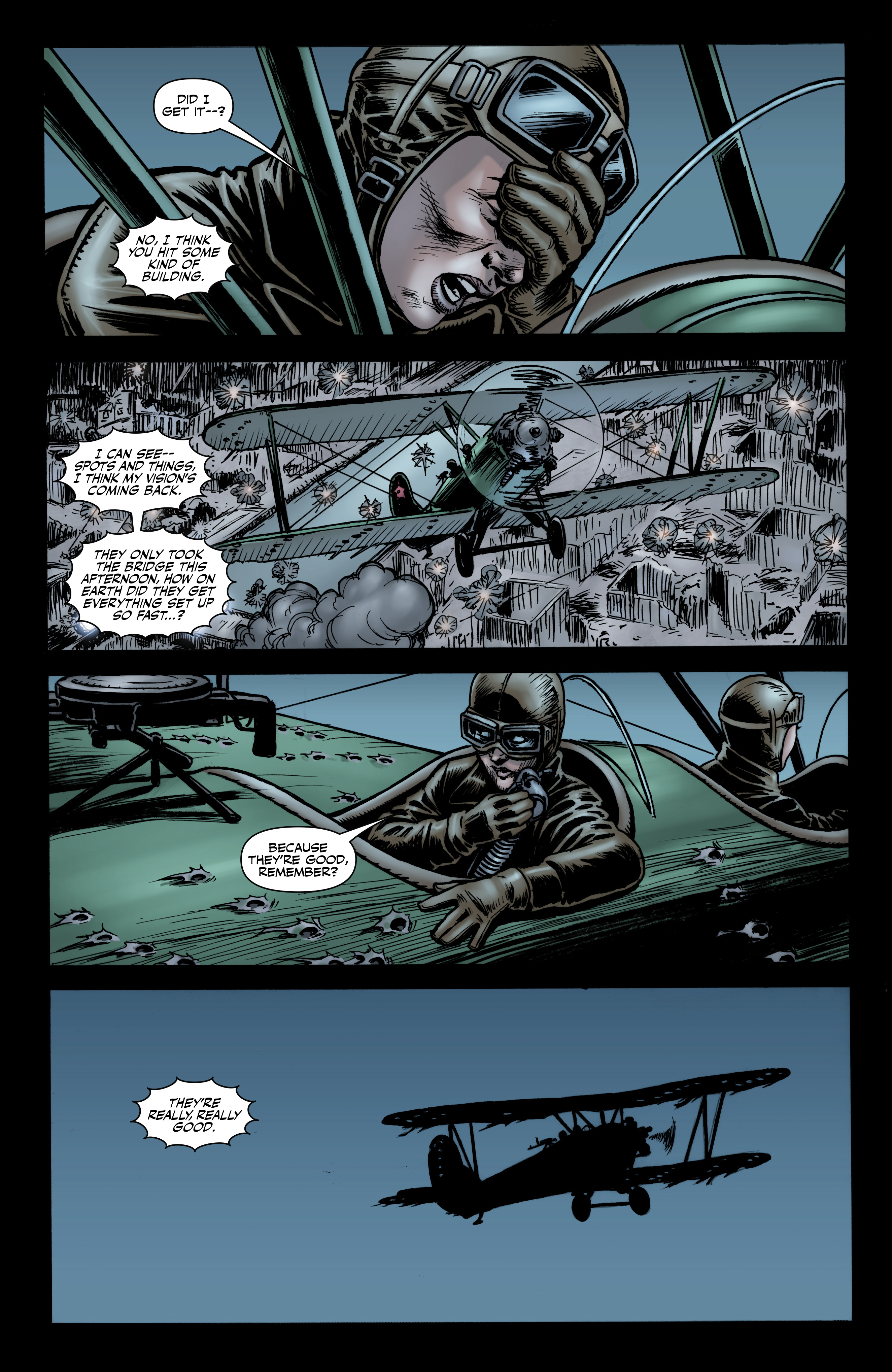 Read online Battlefields: Night Witches comic -  Issue # TPB - 19