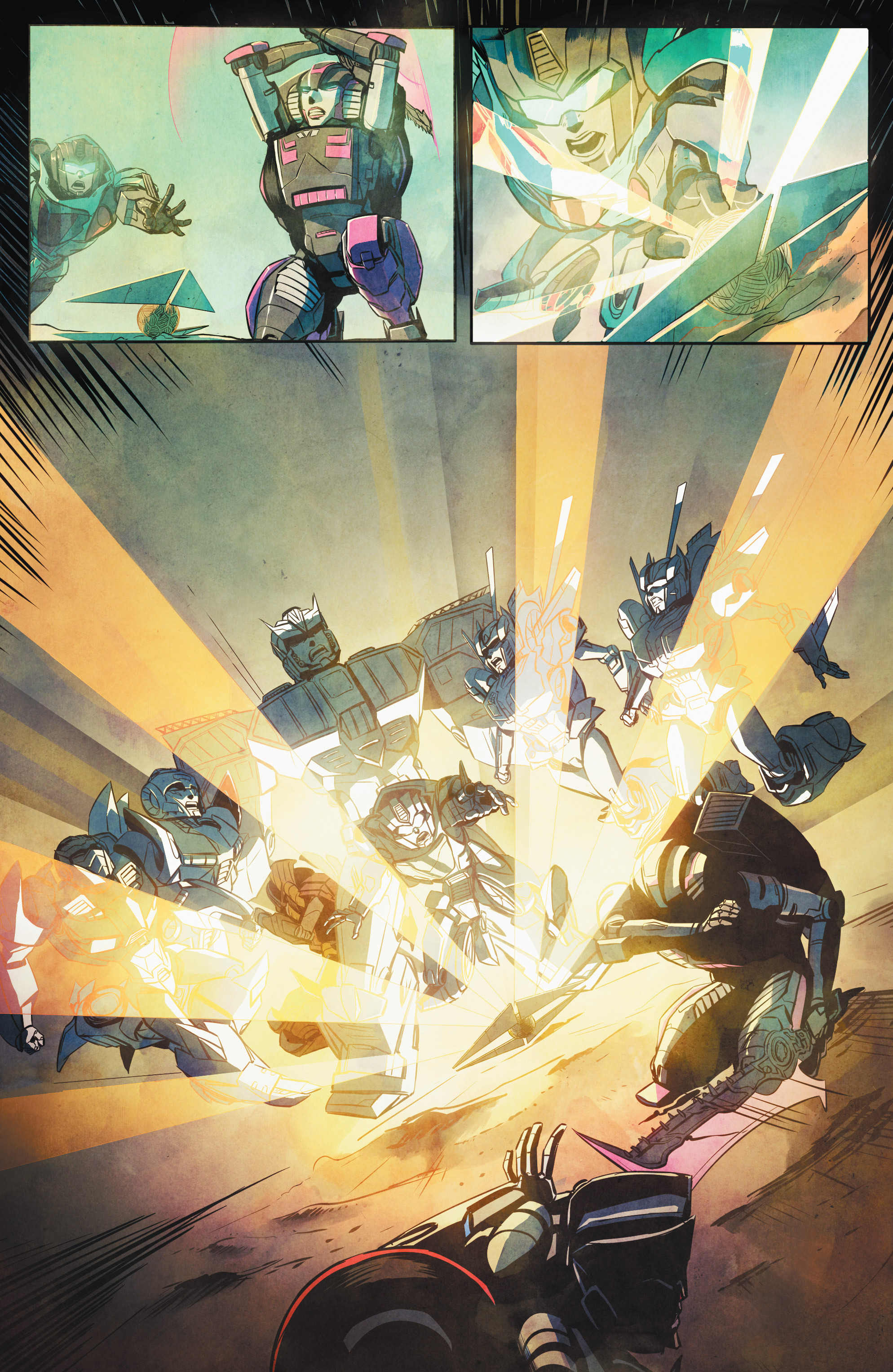 Read online Transformers: Combiner Hunters comic -  Issue # Full - 14