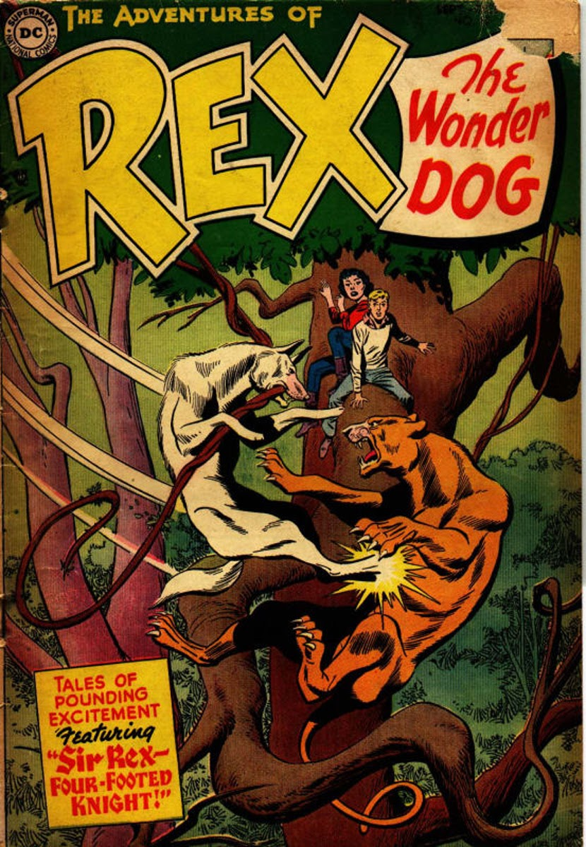 The Adventures of Rex the Wonder Dog issue 17 - Page 1