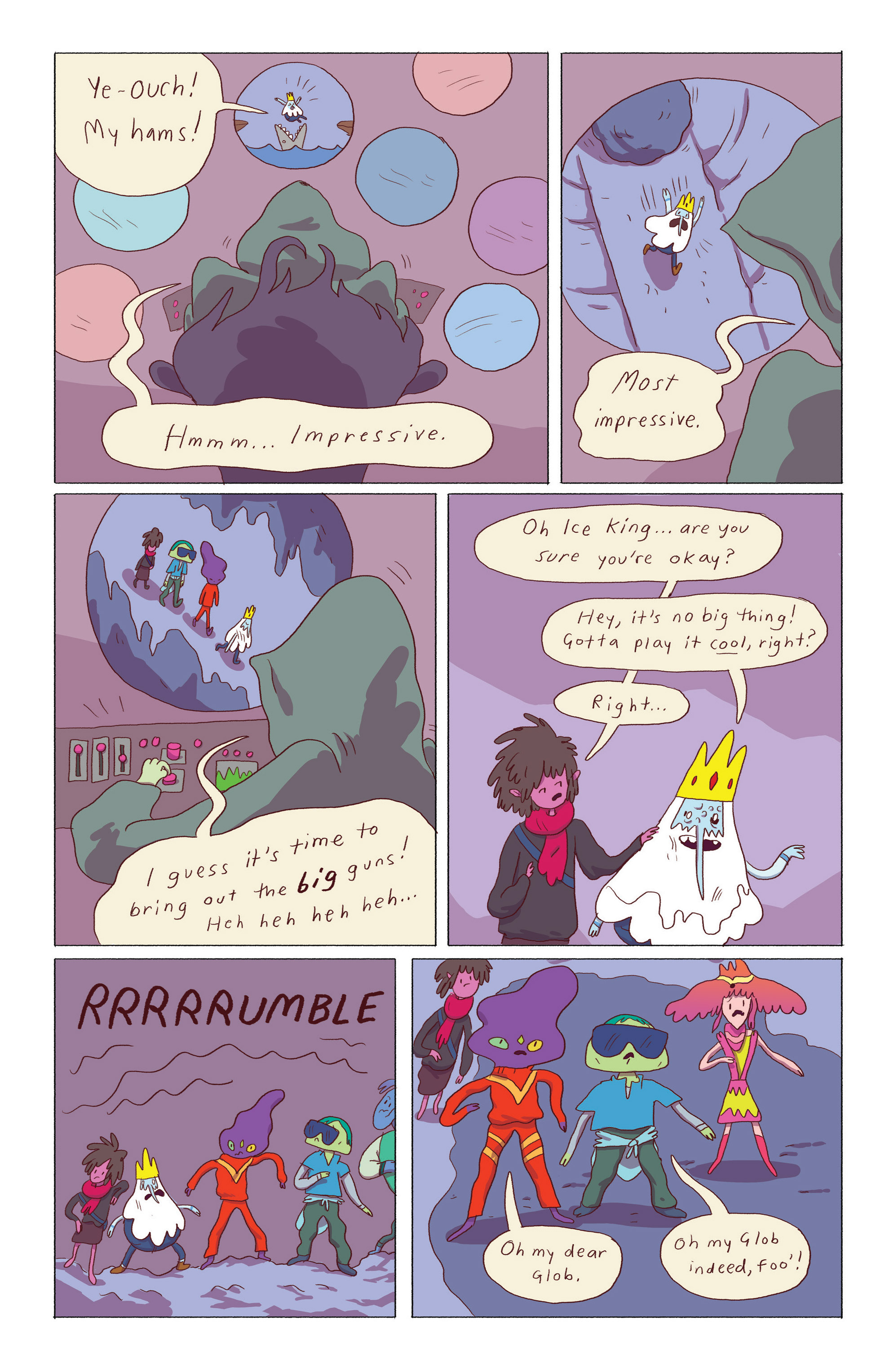 Read online Adventure Time: Ice King comic -  Issue #5 - 12