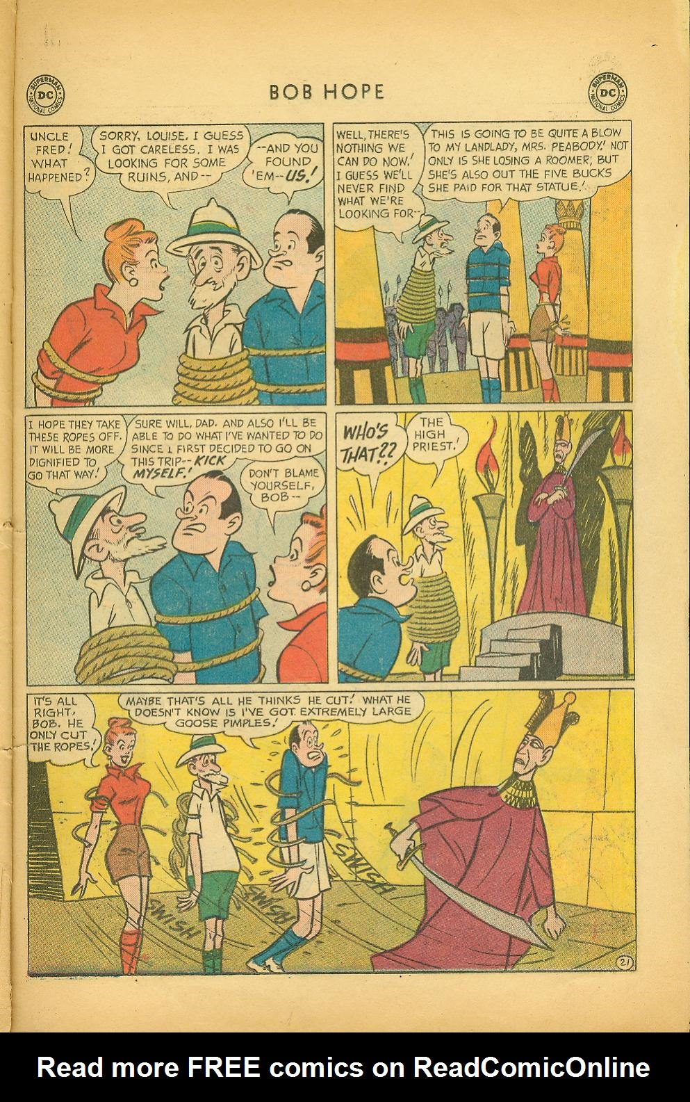 The Adventures of Bob Hope issue 64 - Page 27