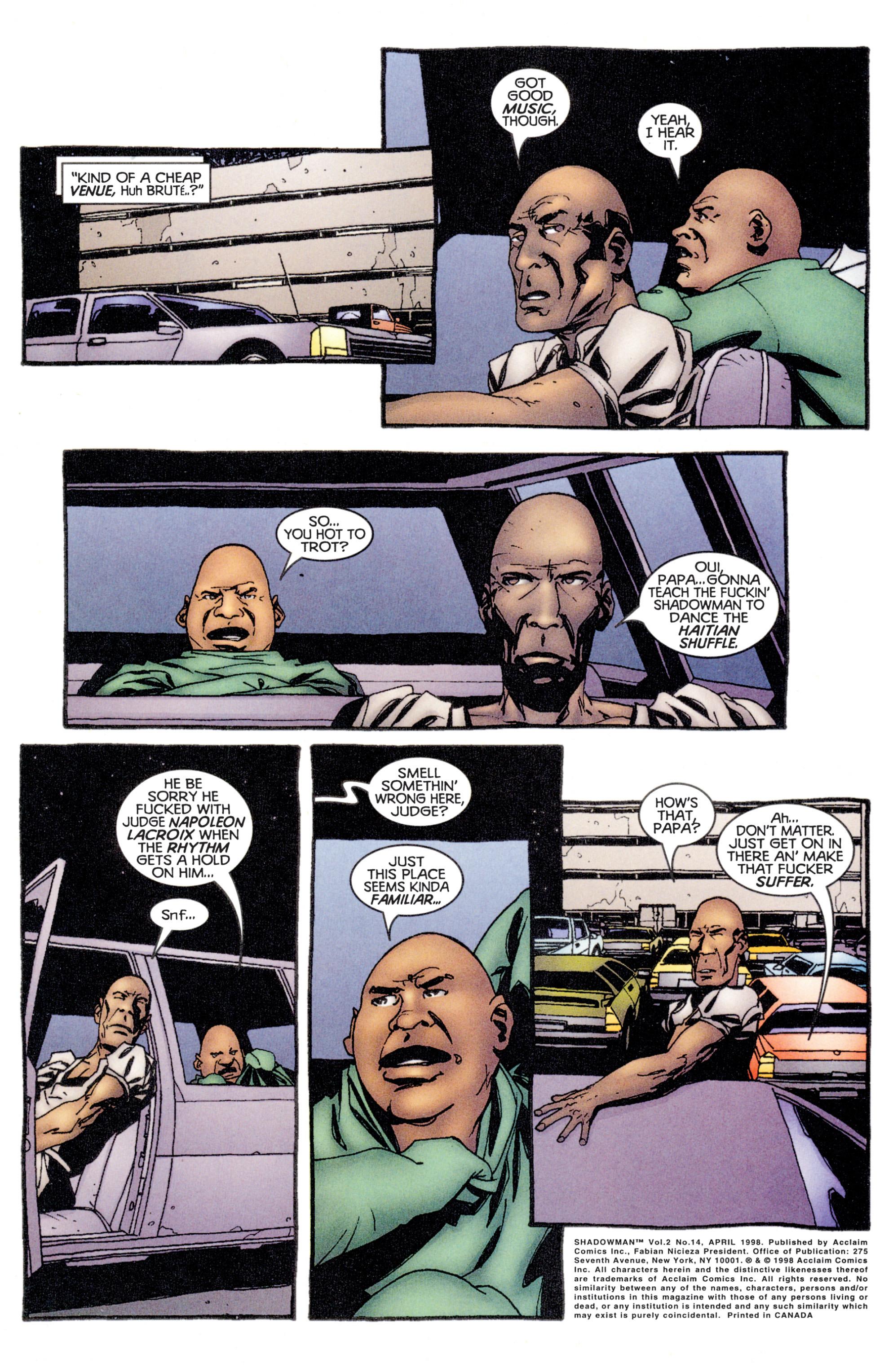 Read online Shadowman (1997) comic -  Issue #14 - 2