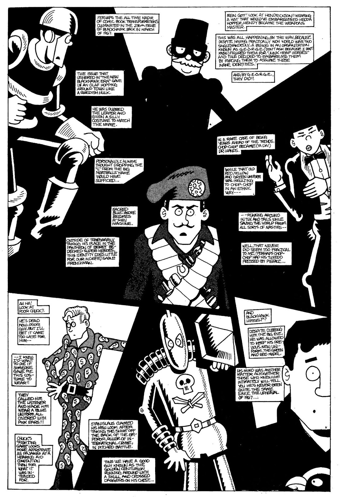Read online The Nearly Complete Essential Hembeck Archives Omnibus comic -  Issue # TPB (Part 1) - 56