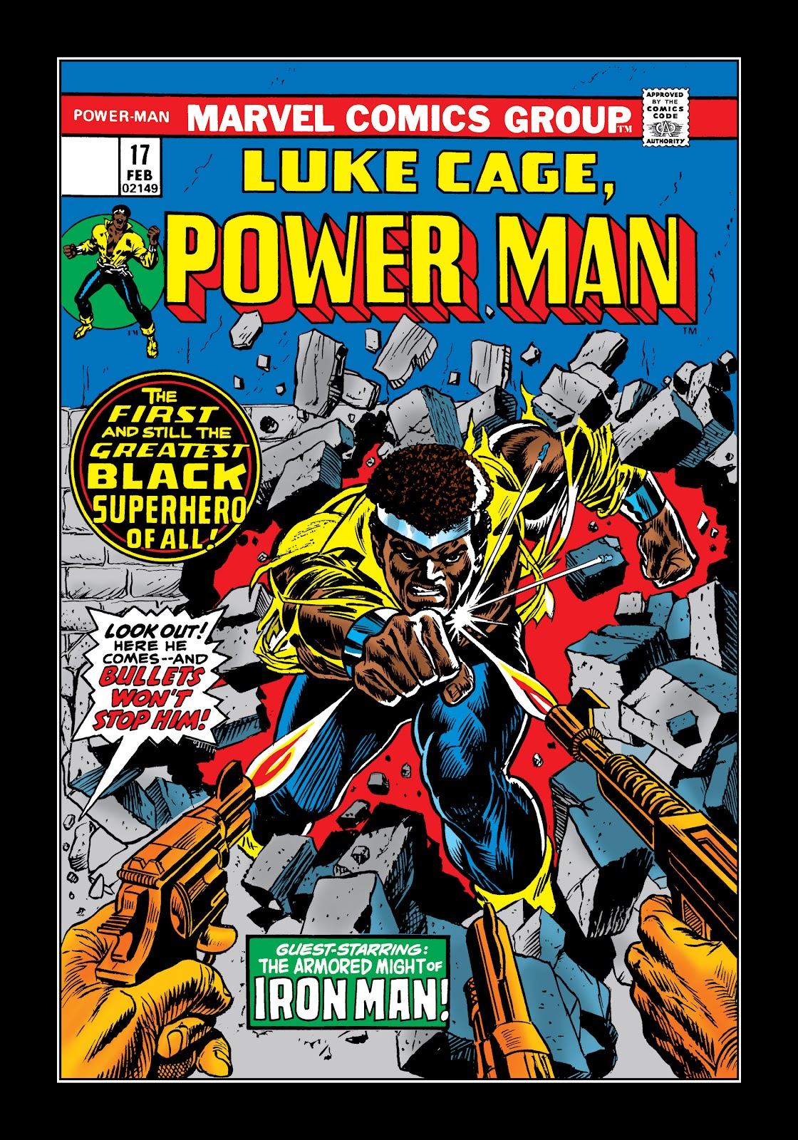 Read online Marvel Masterworks: Luke Cage, Power Man comic -  Issue # TPB 2 (Part 1) - 9