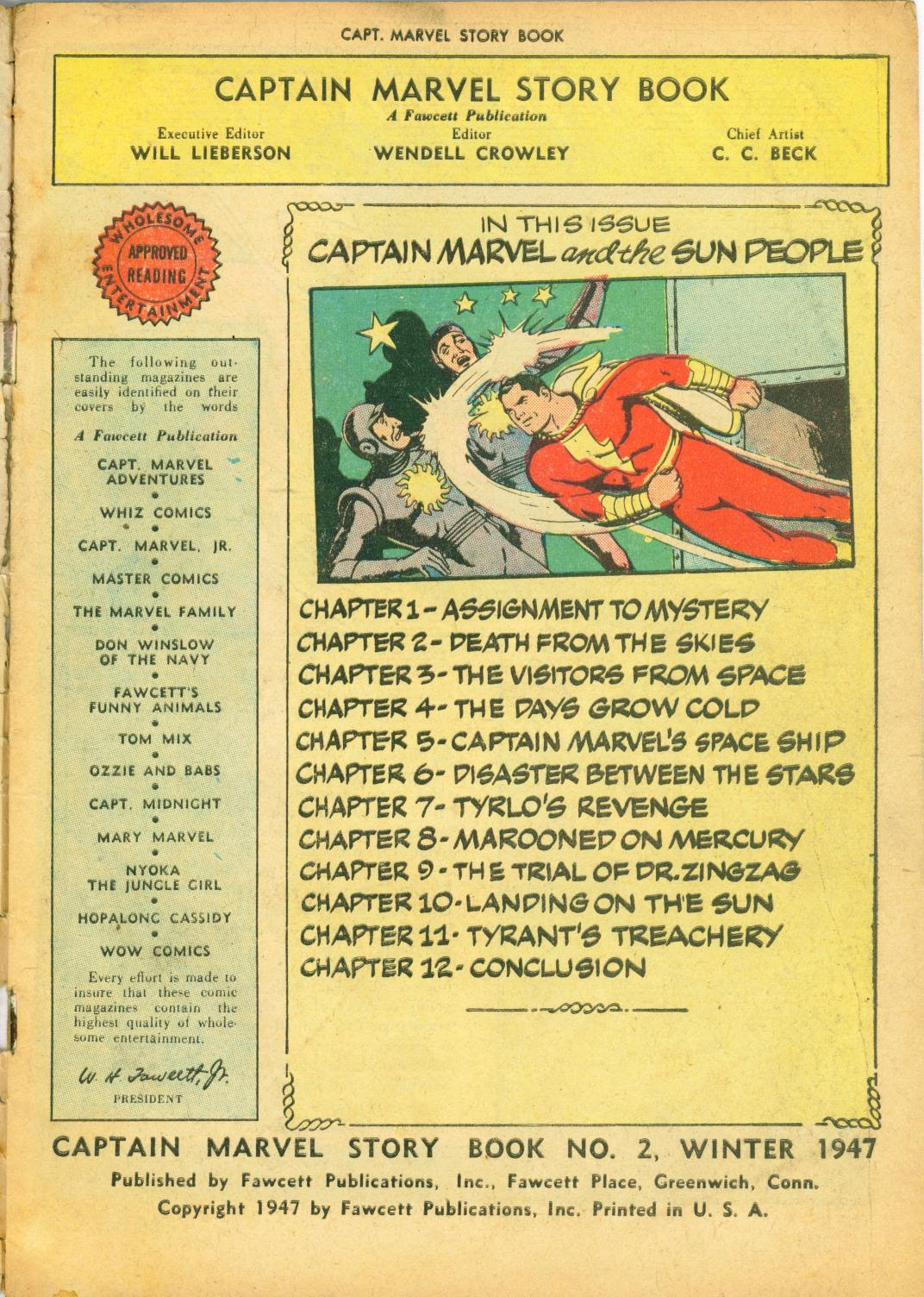 Captain Marvel Storybook issue 2 - Page 3