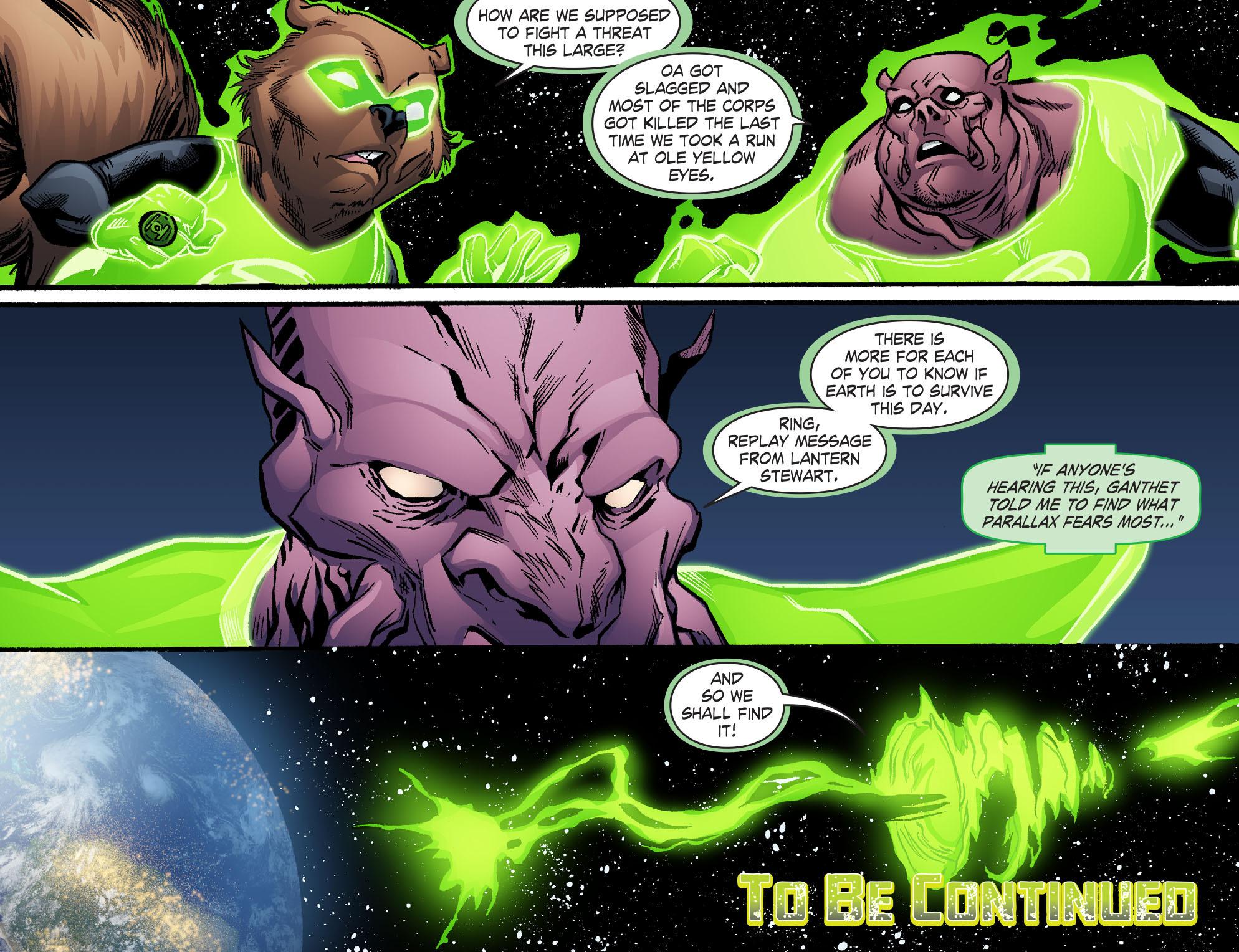 Read online Smallville: Lantern [I] comic -  Issue #10 - 22