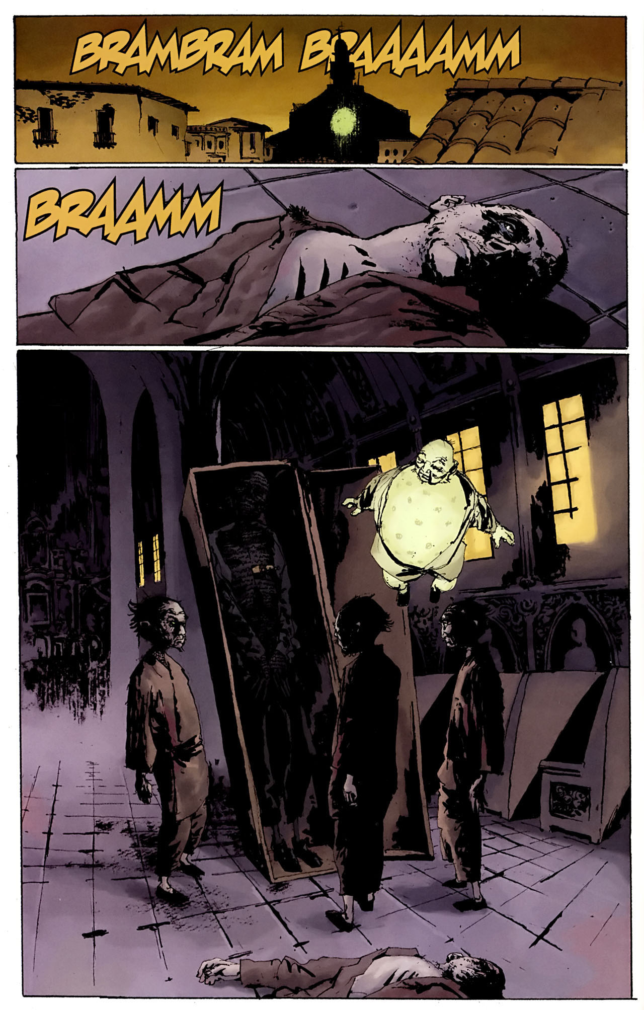 Read online Abe Sapien: The Drowning comic -  Issue #3 - 6