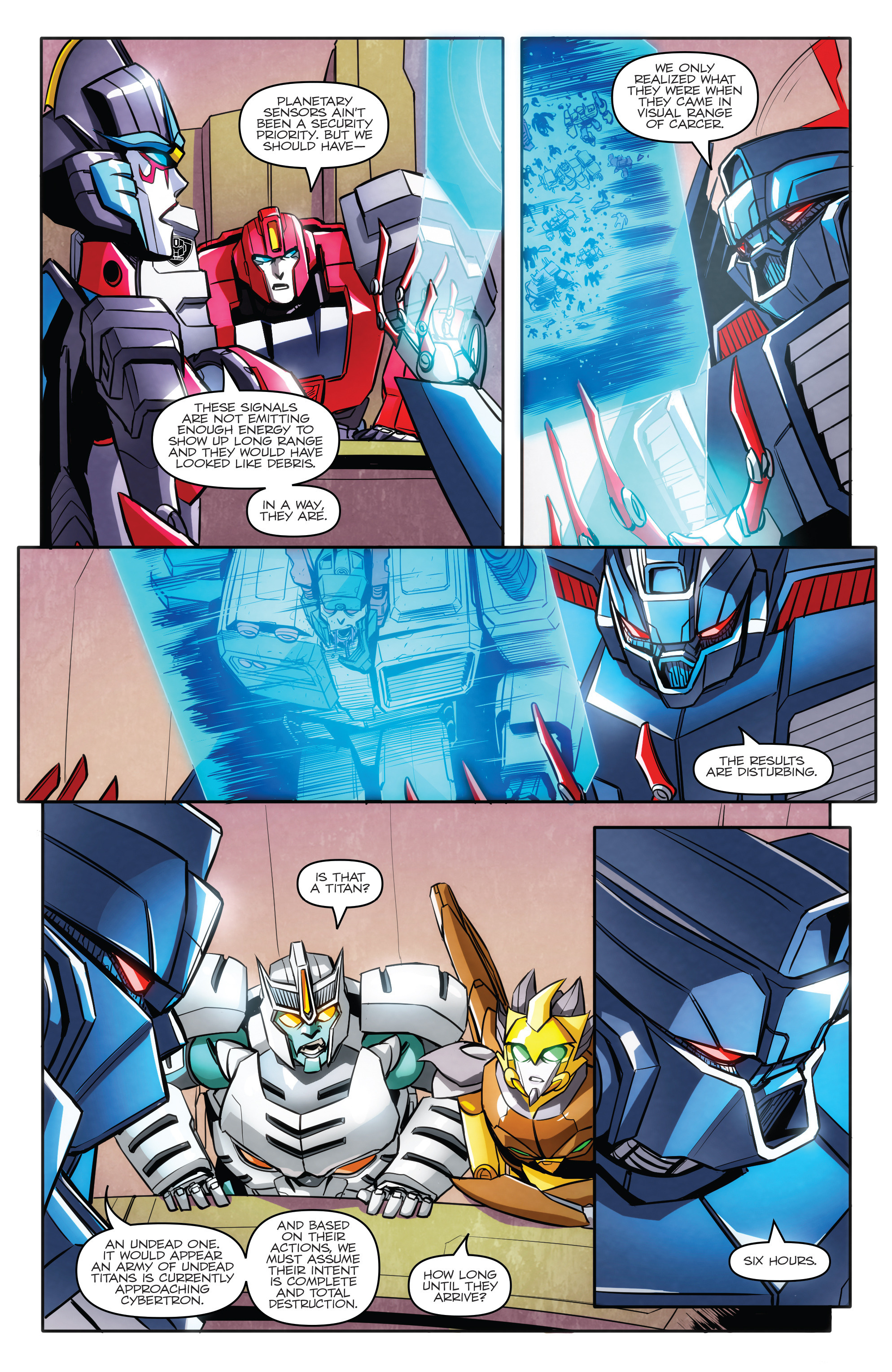 Read online Transformers: Till All Are One comic -  Issue #5 - 10