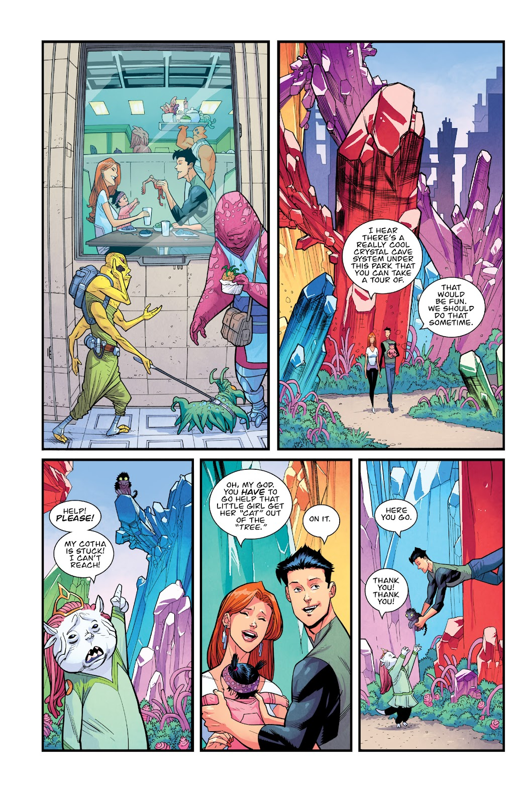 Invincible (2003) issue TPB 21 - Modern Family - Page 124