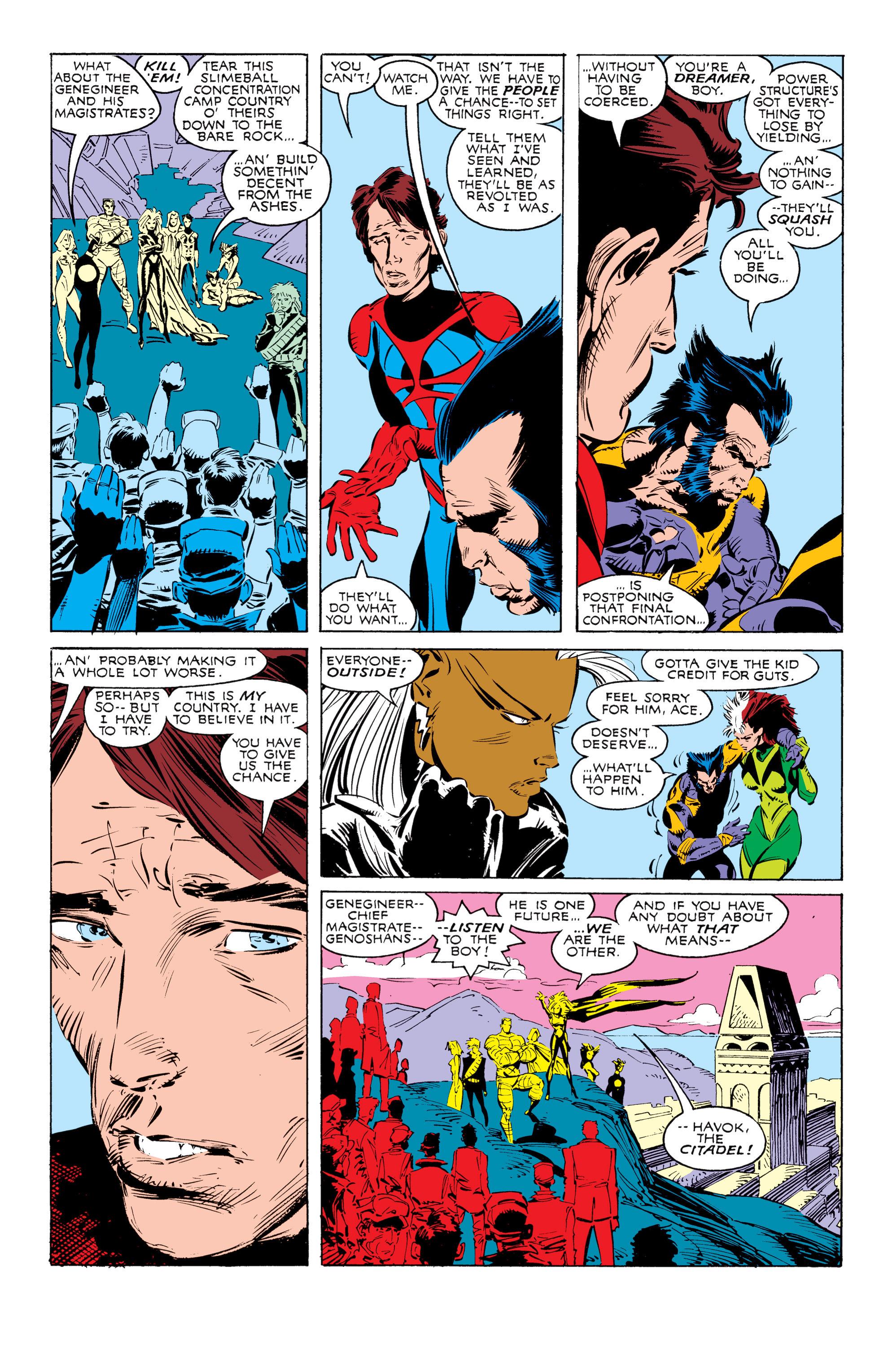 Read online Uncanny X-Men (1963) comic -  Issue #238 - 22