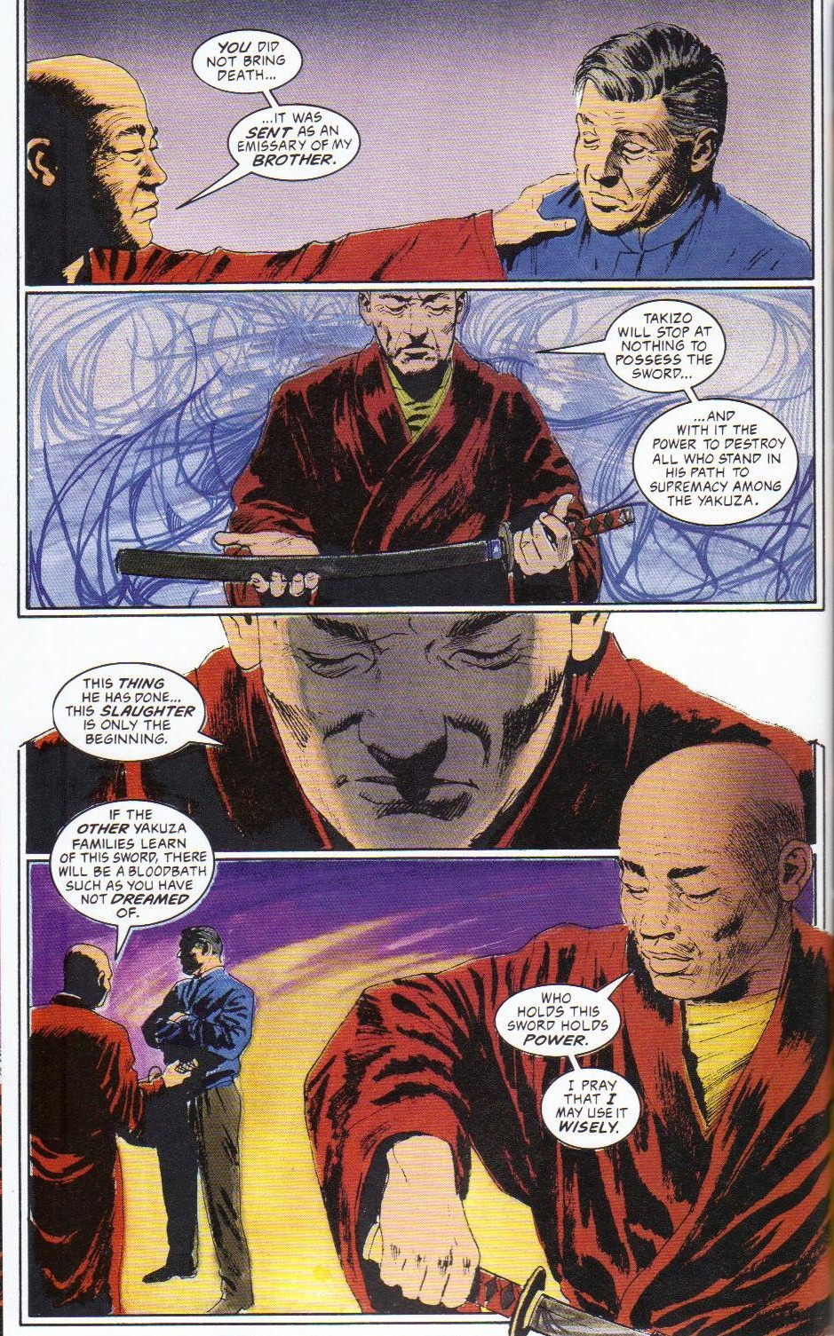 Read online Shado: Song of the Dragon comic -  Issue #2 - 20