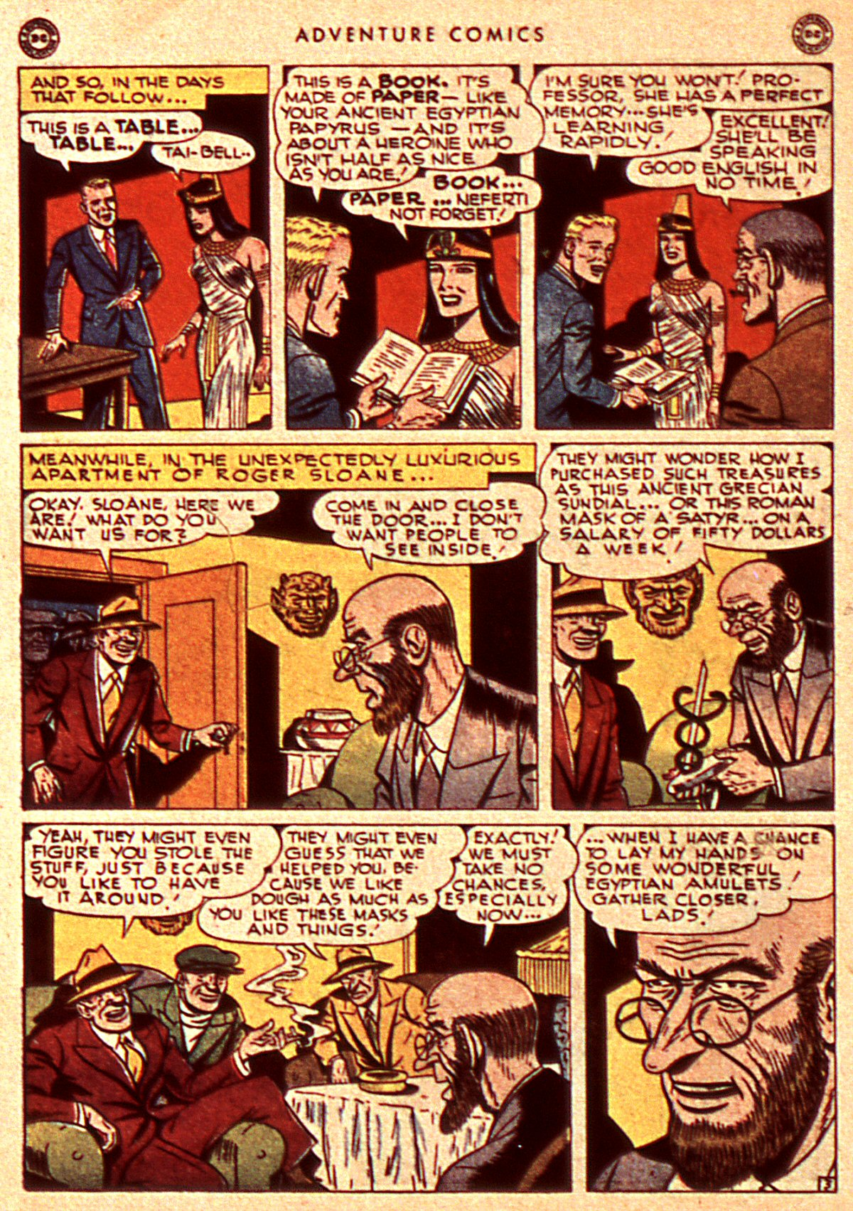 Read online Adventure Comics (1938) comic -  Issue #106 - 34