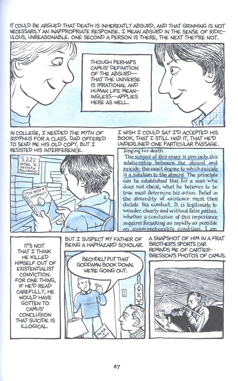 Read online Fun Home: A Family Tragicomic comic -  Issue # TPB - 54