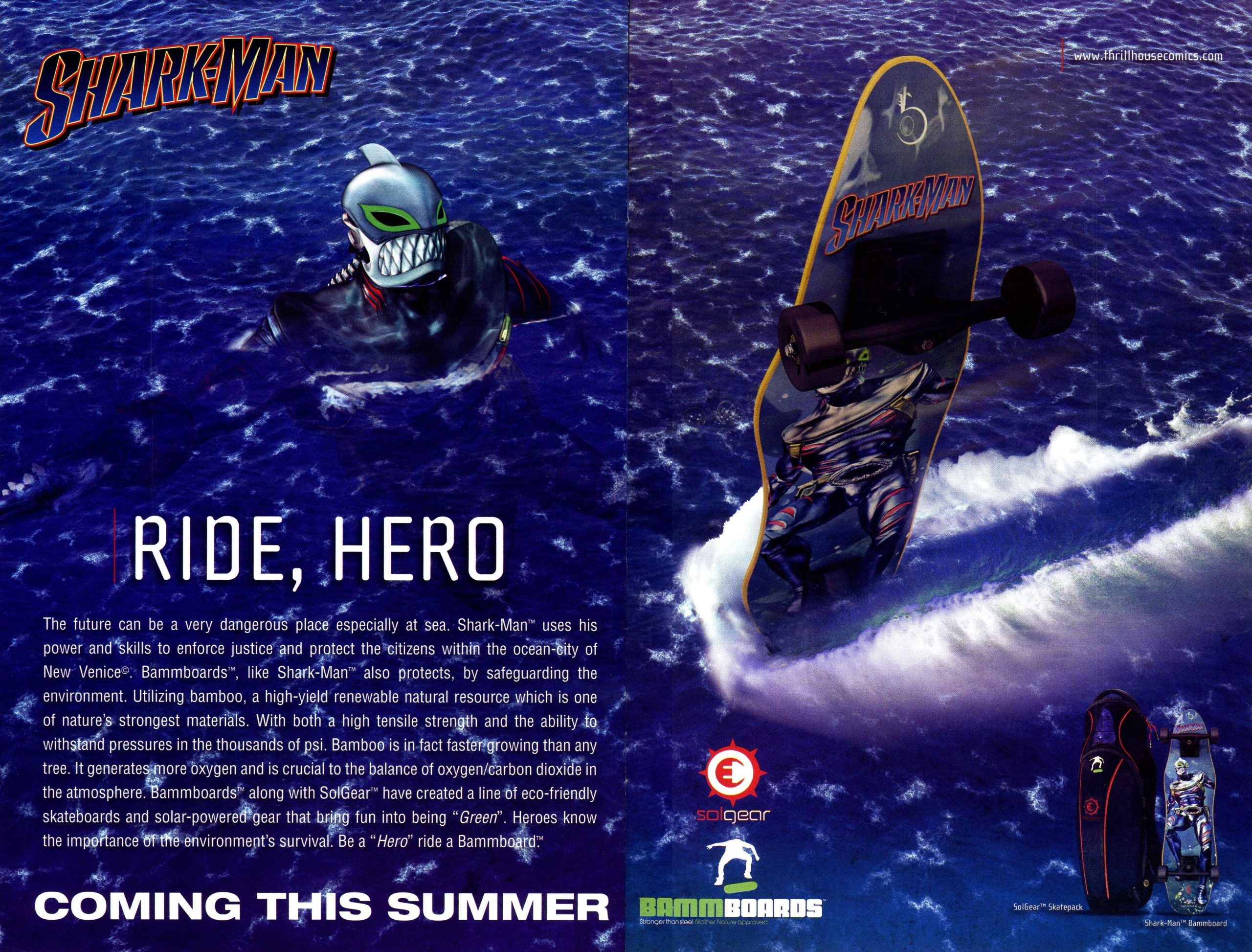 Read online Shark-Man comic -  Issue #3 - 26