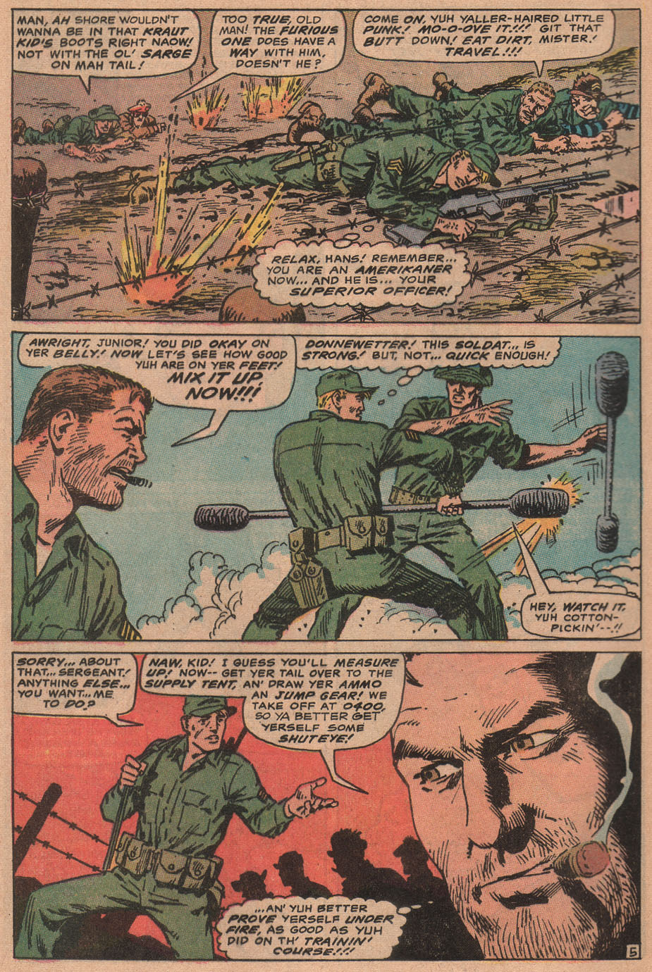 Read online Sgt. Fury comic -  Issue #77 - 8