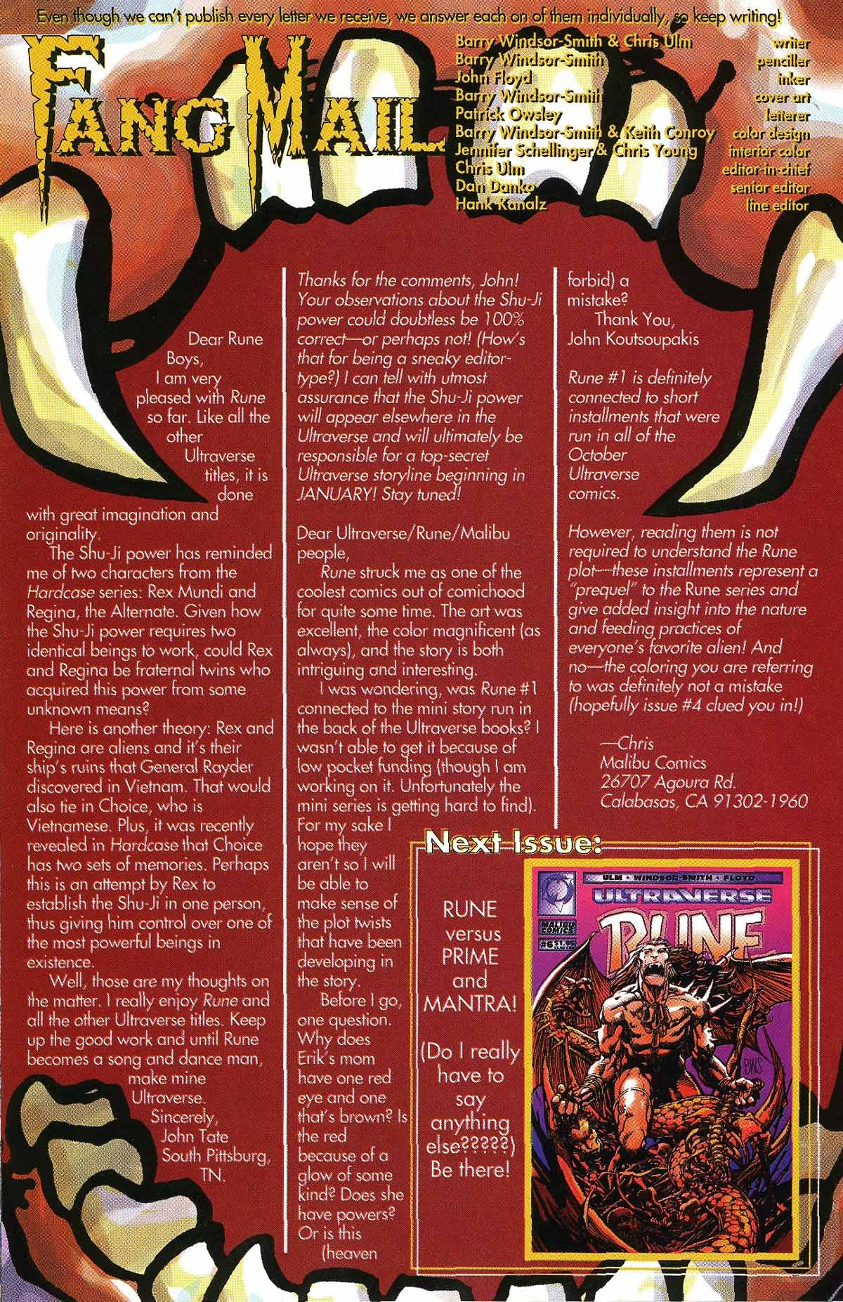 Read online Rune (1994) comic -  Issue #5 - 29