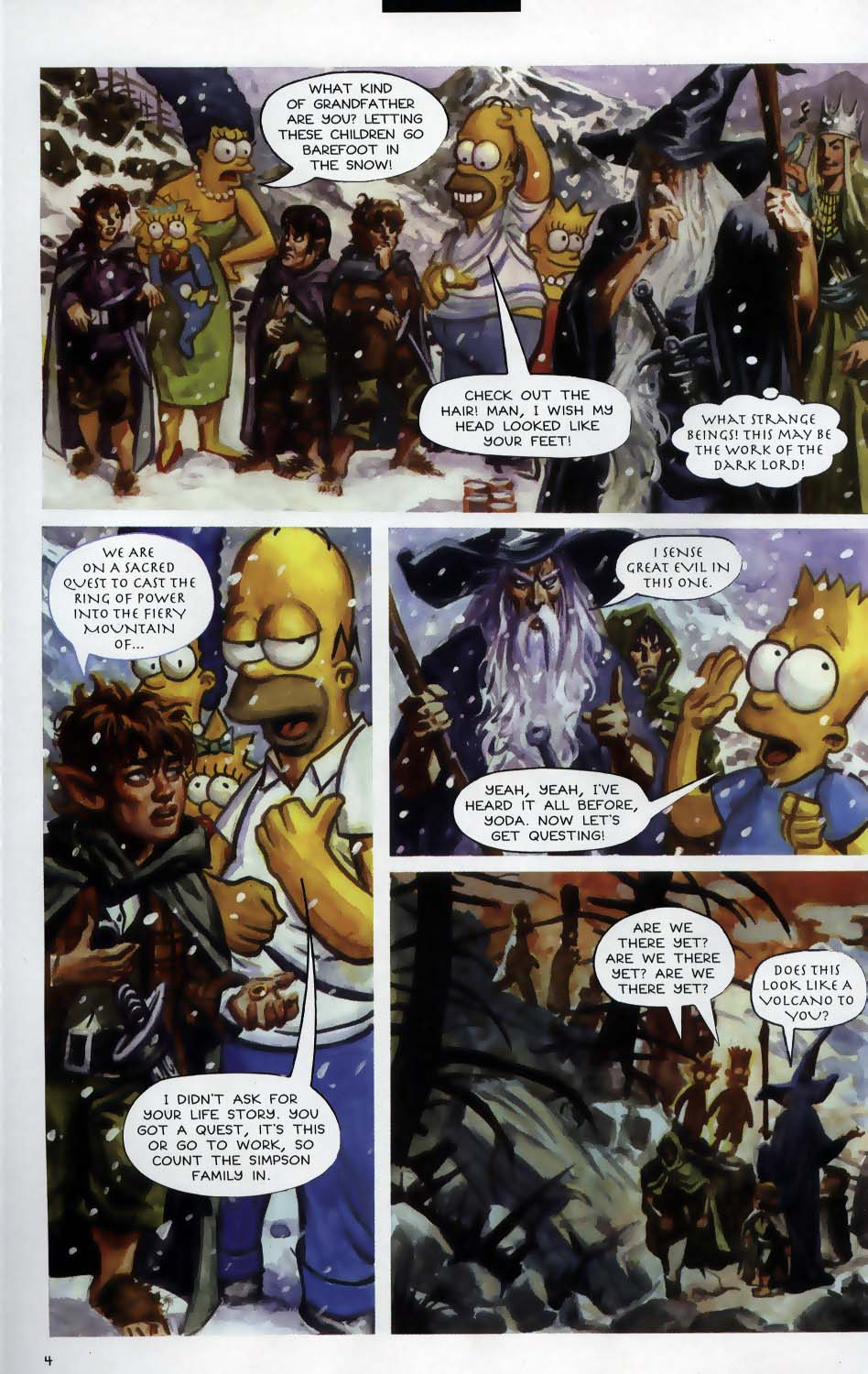 Read online Treehouse of Horror comic -  Issue #9 - 6
