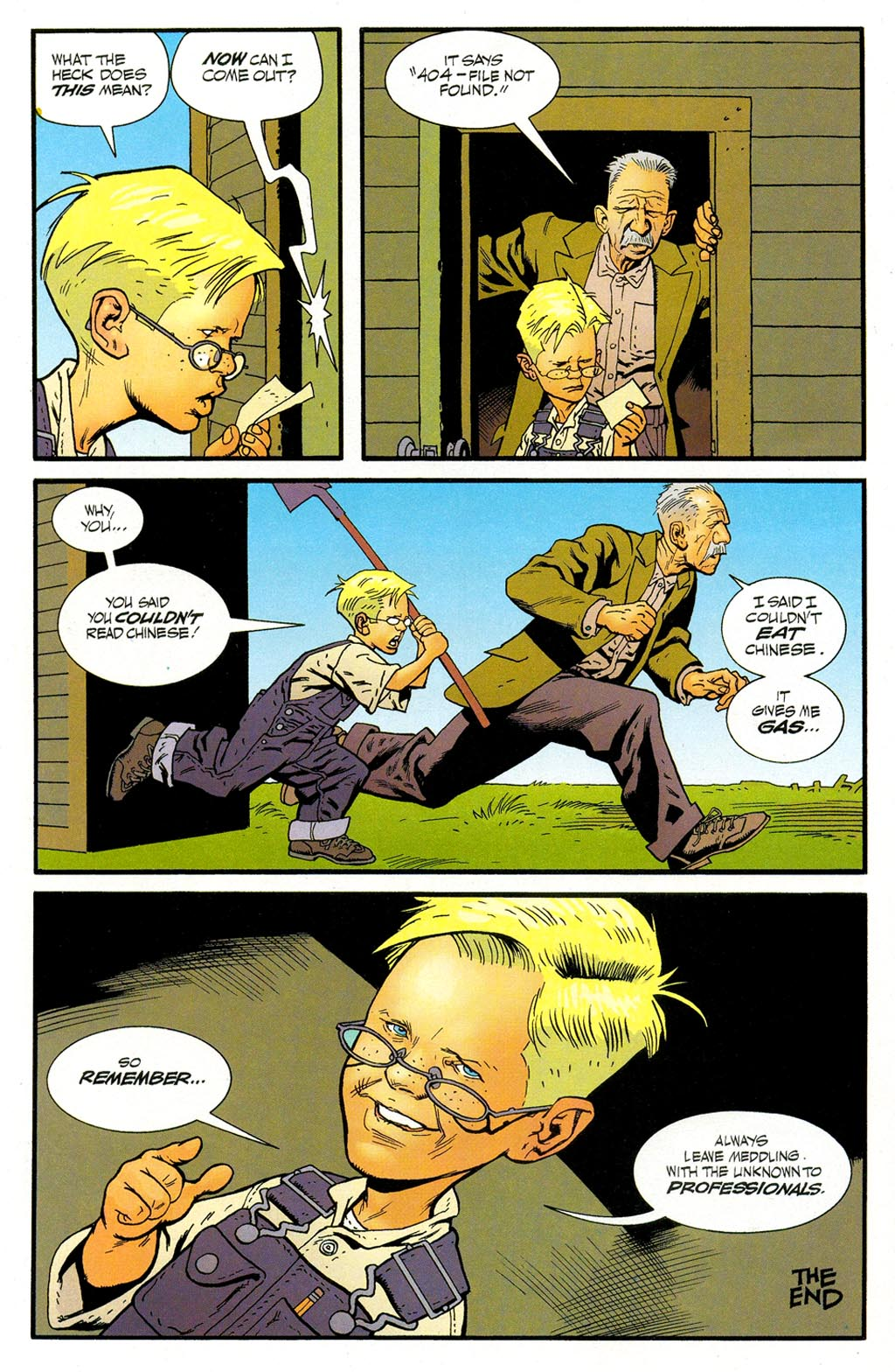 Read online ABC: A-Z, Tom Strong and Jack B. Quick comic -  Issue #ABC: A-Z, Tom Strong and Jack B. Quick Full - 17