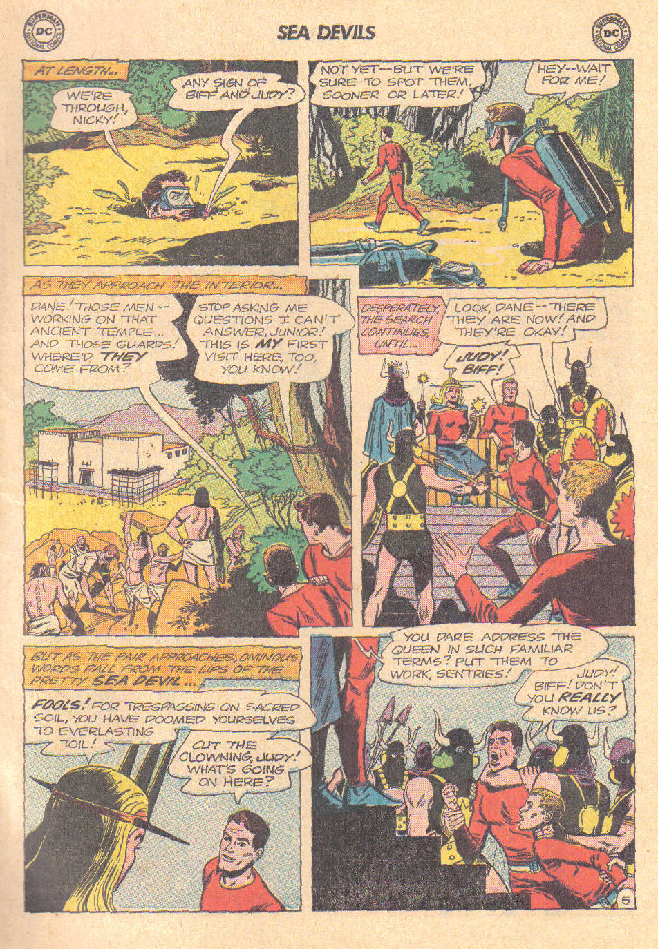 Read online Sea Devils comic -  Issue #16 - 7