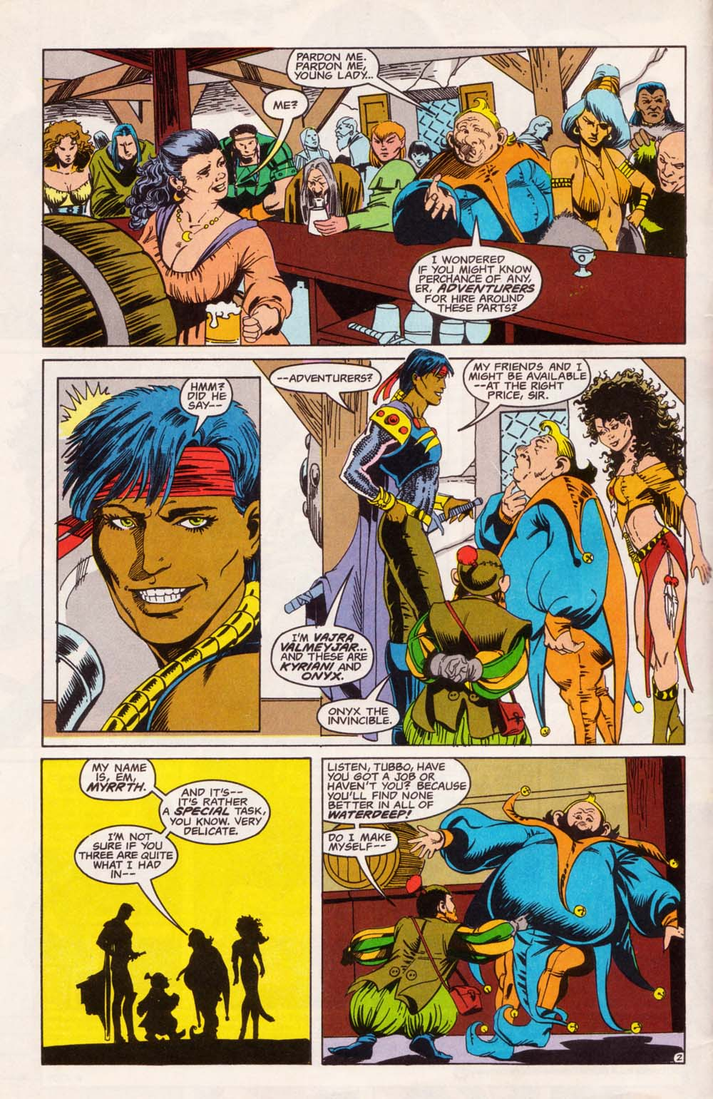 Read online Advanced Dungeons & Dragons comic -  Issue #5 - 3
