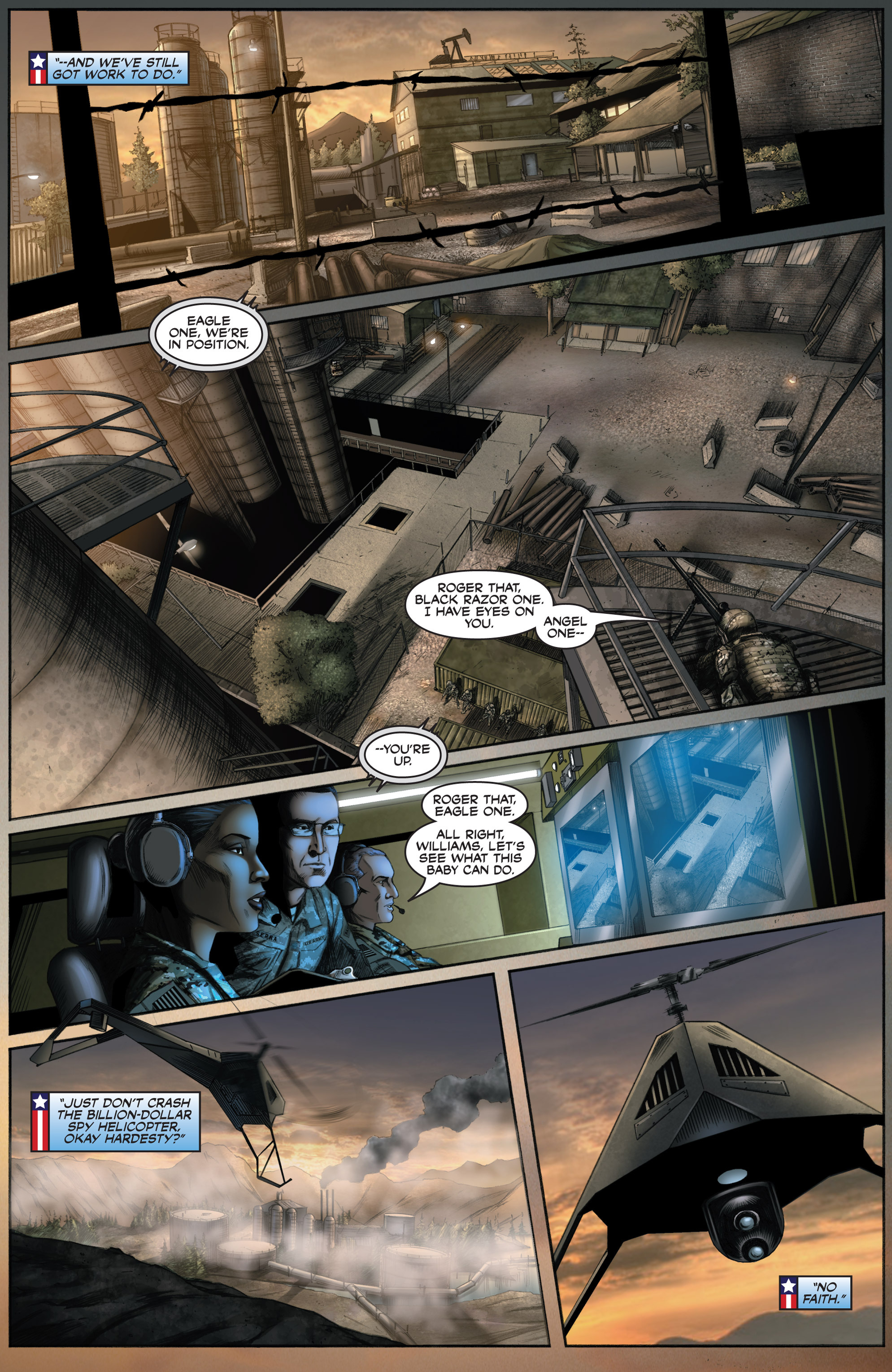 Read online America's Army comic -  Issue #8 - 13