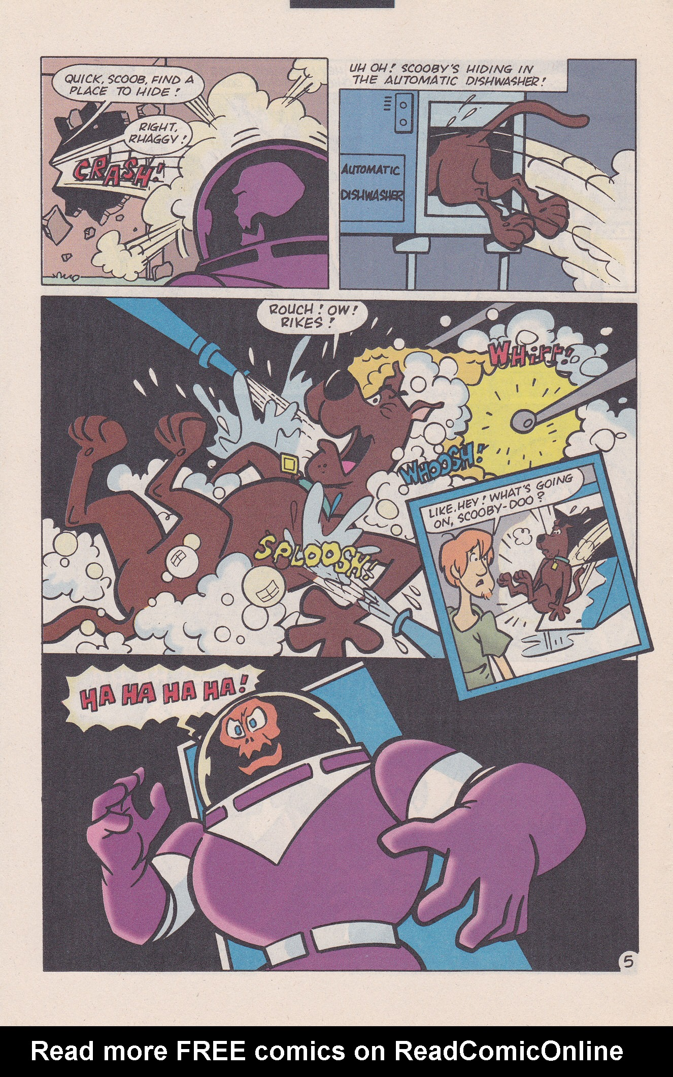 Read online Scooby-Doo (1995) comic -  Issue #20 - 30
